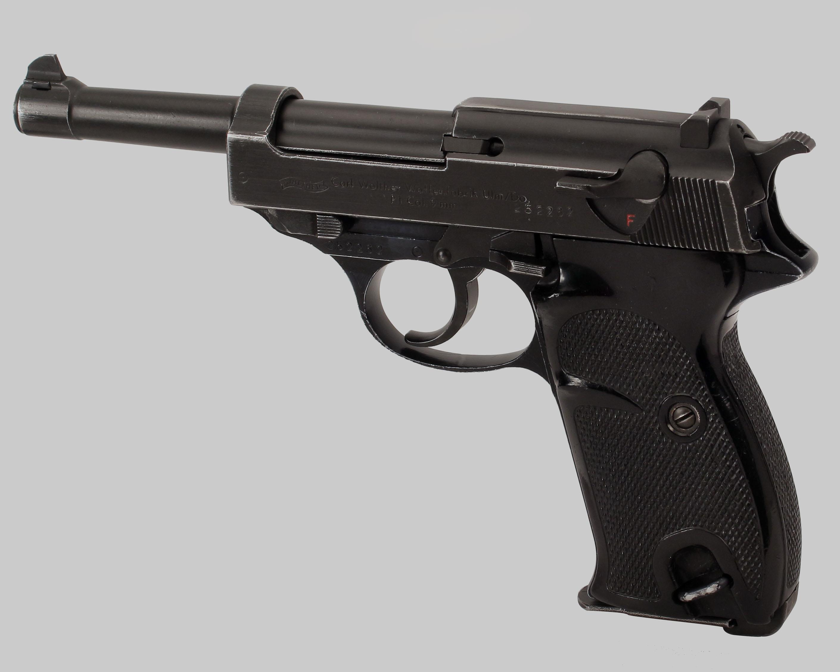 Walther P1 9mm Pistol  Guns > Pistols > Walther Pistols > Pre-1945 > Other