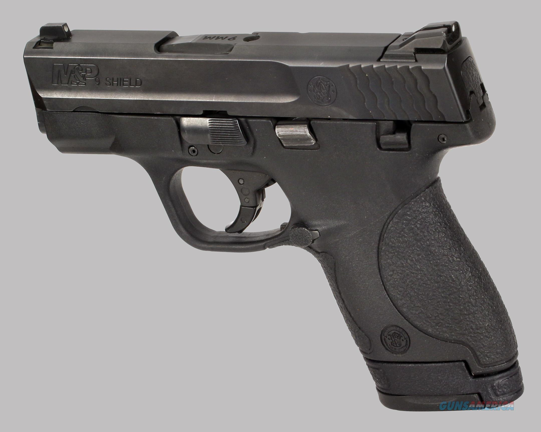 Smith & Wesson M&P9 Shield 9mm Pistol  Guns > Pistols > Smith & Wesson Pistols - Autos > Polymer Frame