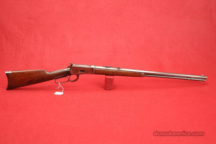 "WINCHESTER RIFLE LEVER-ACTION .25-20CAL BLUE BARREL 24""  Guns > Rifles > Winchester Rifles - Pre-1899 Lever"