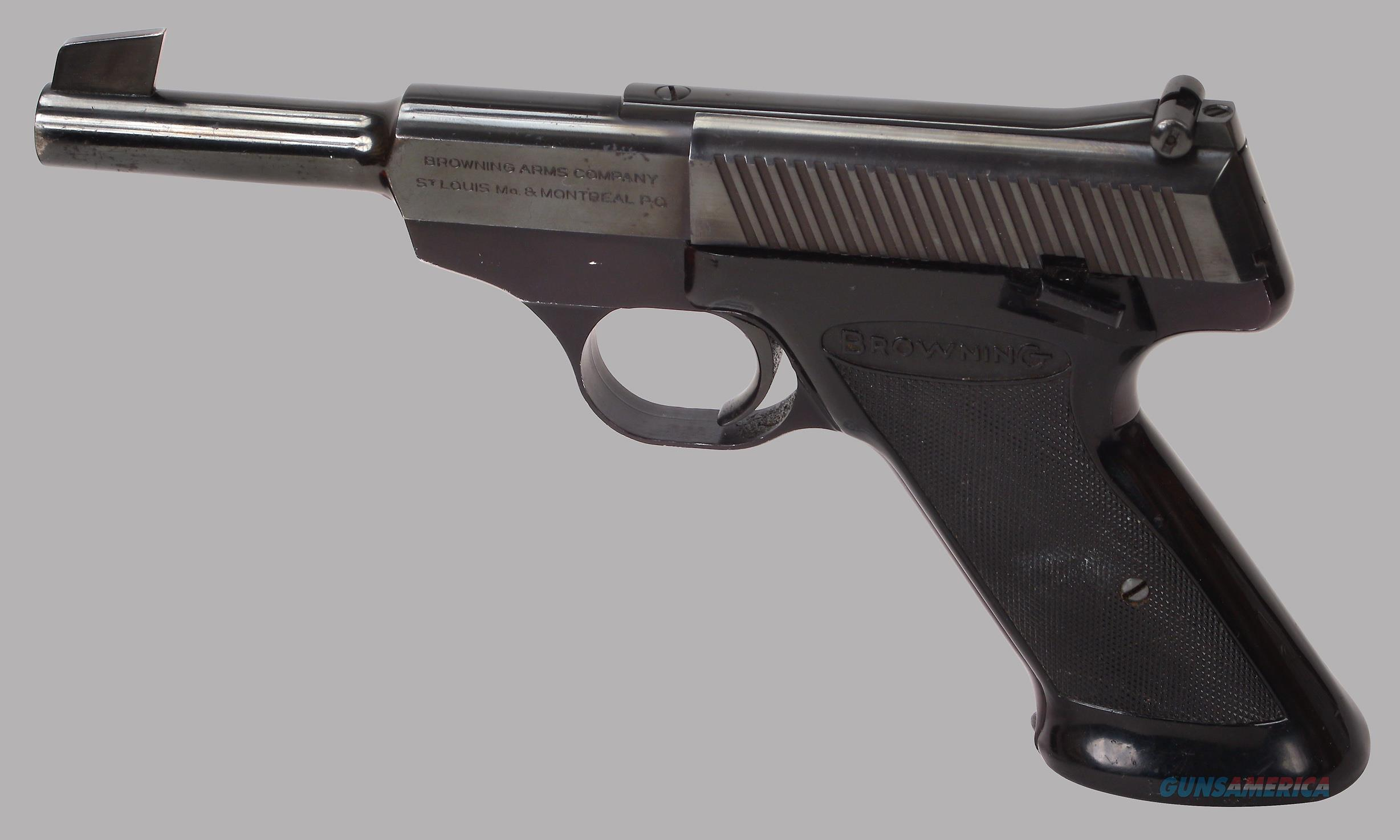 Browning 22LR Nomad Pistol  Guns > Pistols > Browning Pistols > Other Autos