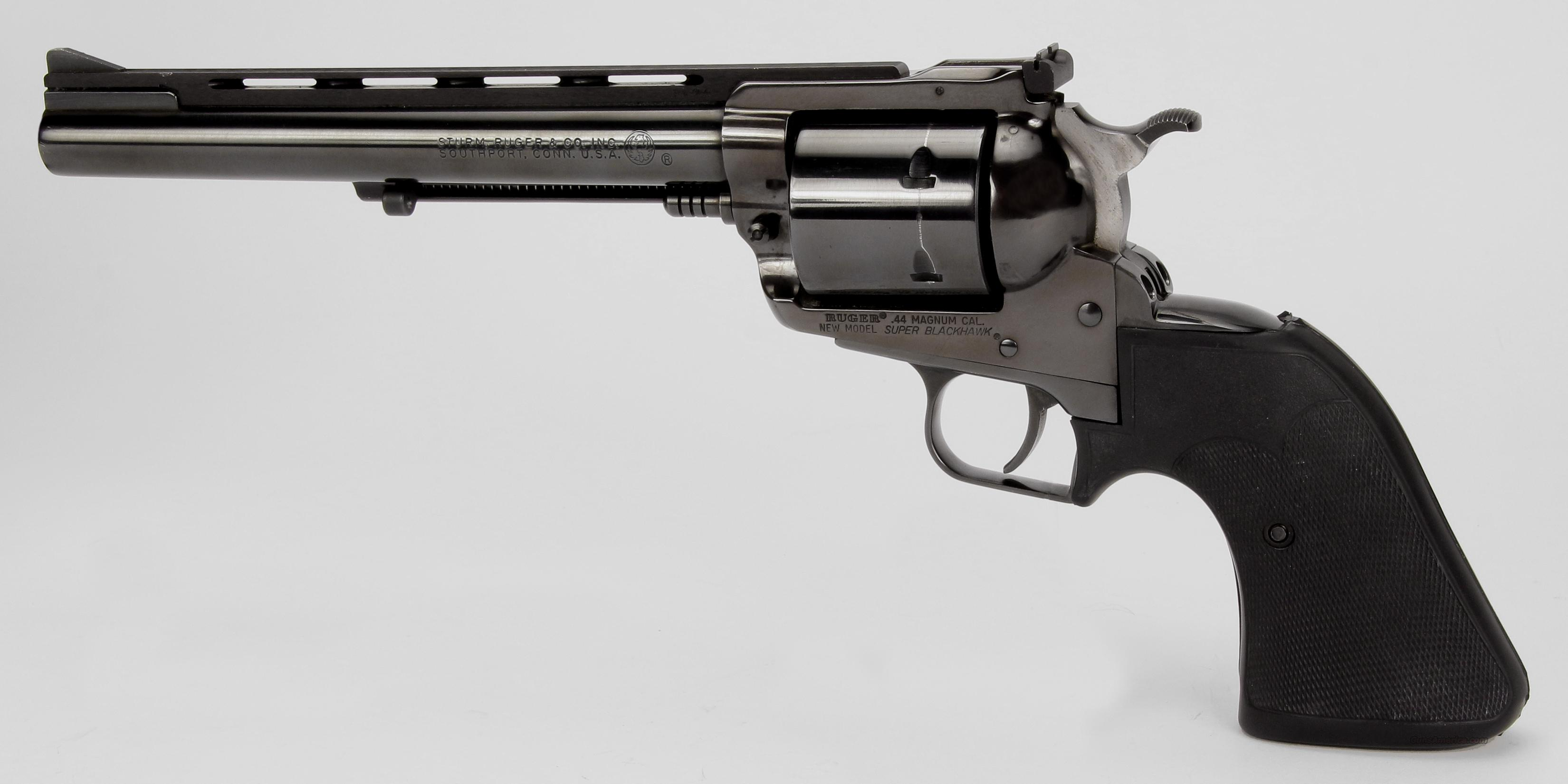Ruger New Model Super Blackhawk Revolver  Guns > Pistols > Ruger Single Action Revolvers > Blackhawk Type