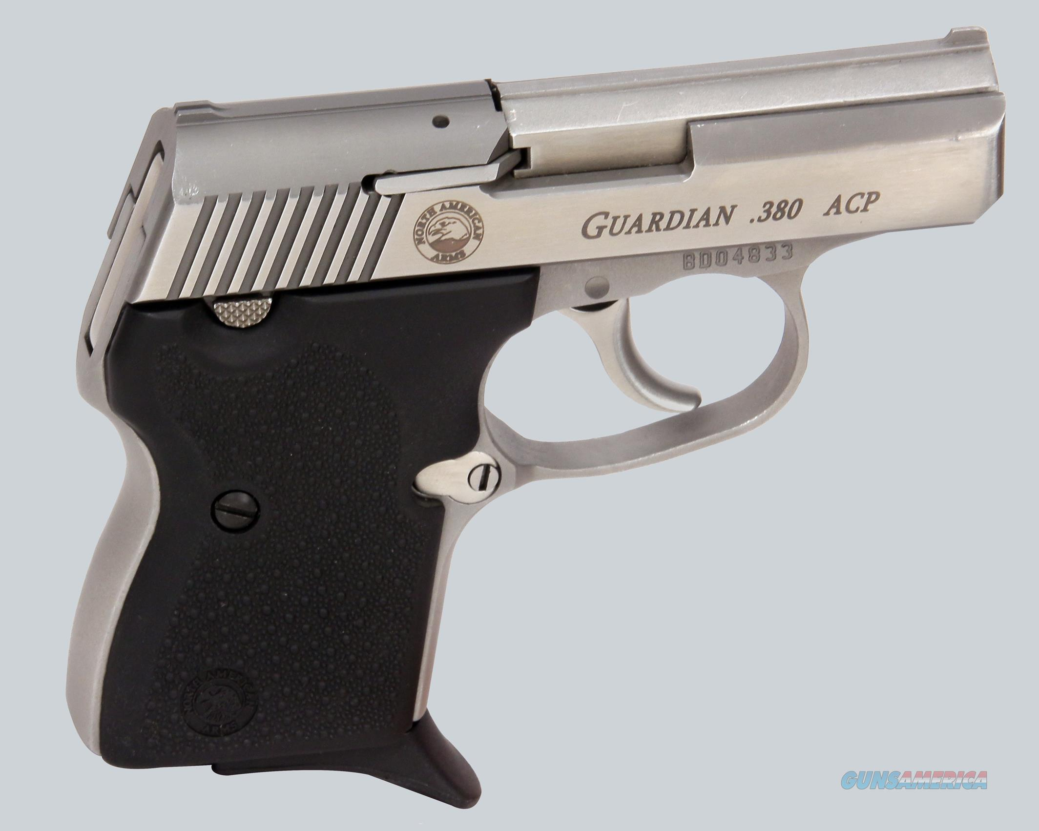 North American Arms 380scp Guardian Pistol  Guns > Pistols > North American Arms Pistols