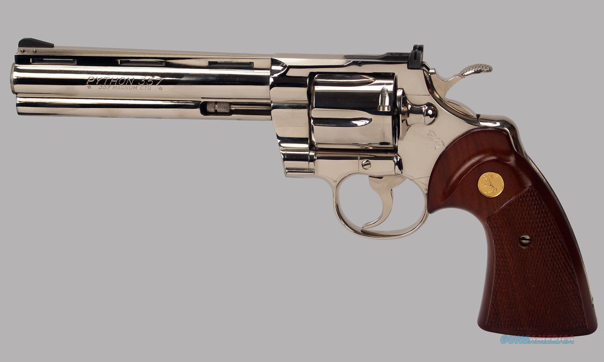 Colt Python 357 Magnum Revolver