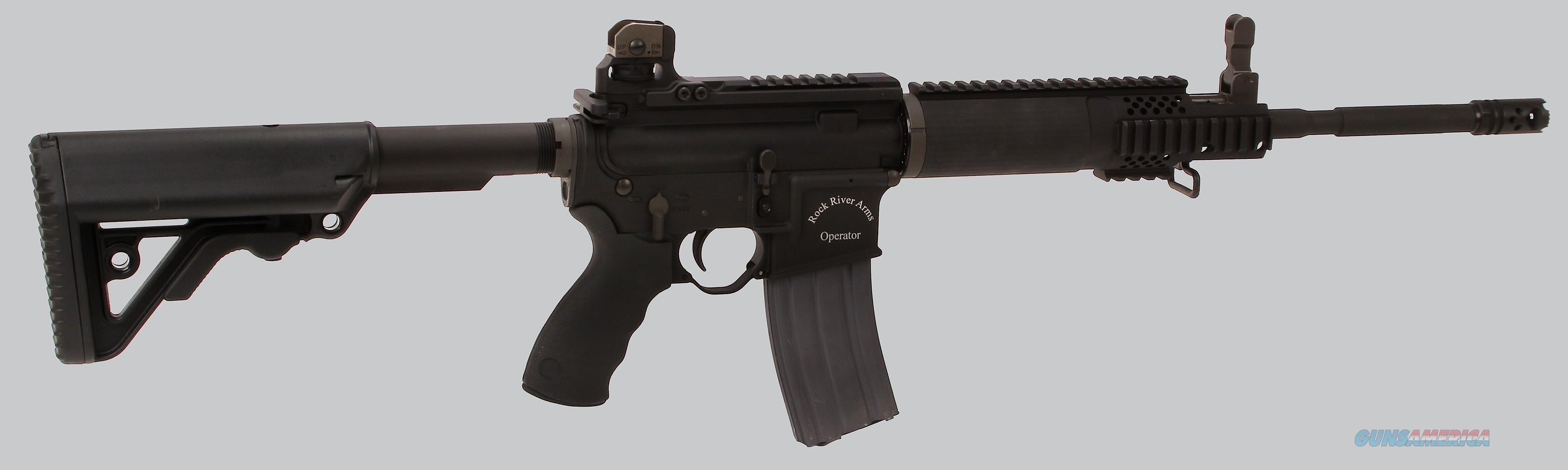 "Rock River Arms ""Left Hand"" LAR-15LH Semi Auto 5.56 Rifle  Guns > Rifles > Rock River Arms Rifles"