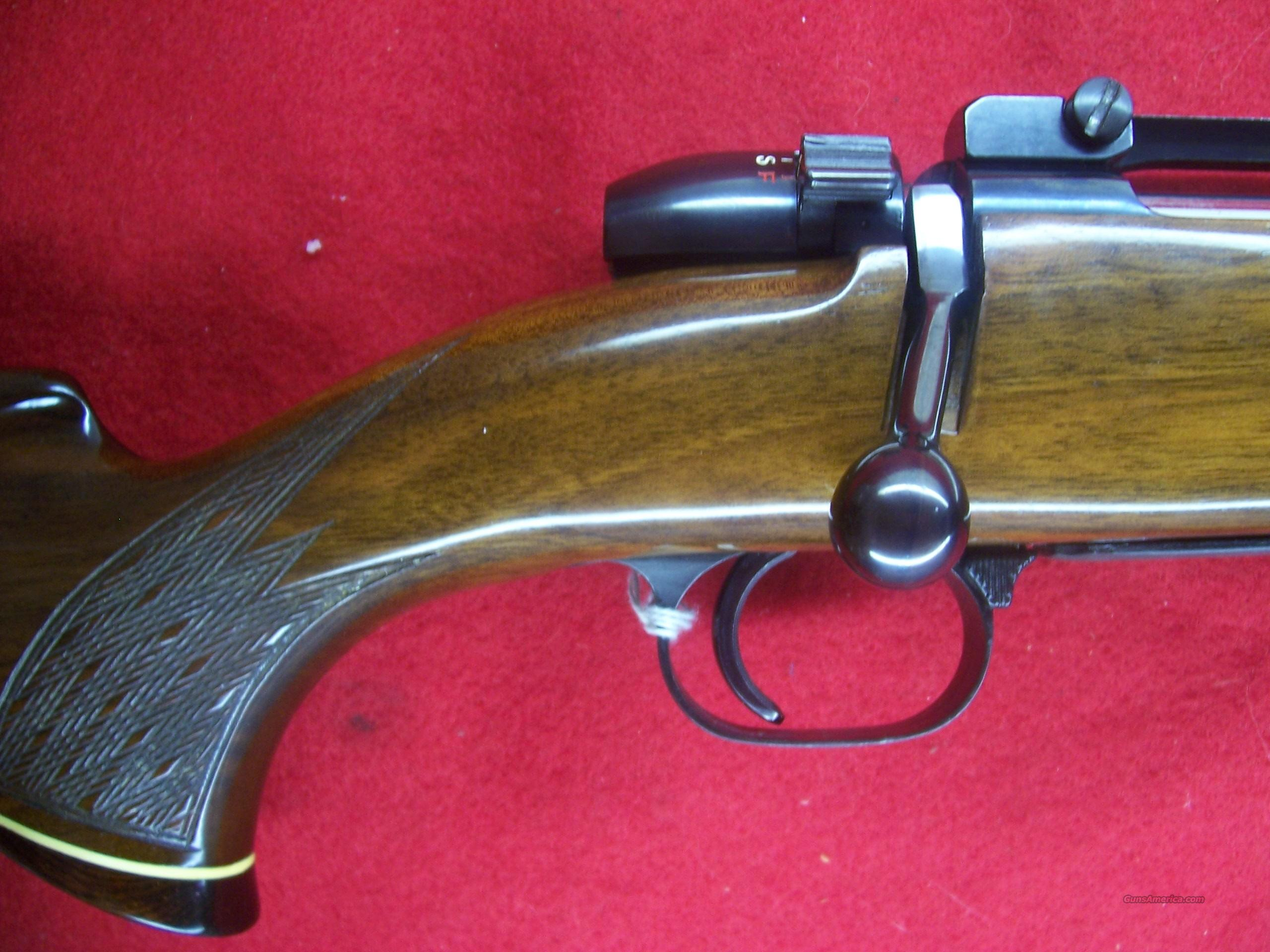 "MAUSER BOLT-ACTION RIFLE .375 H&H  BARREL 24""  Guns > Rifles > Mauser Rifles > German"