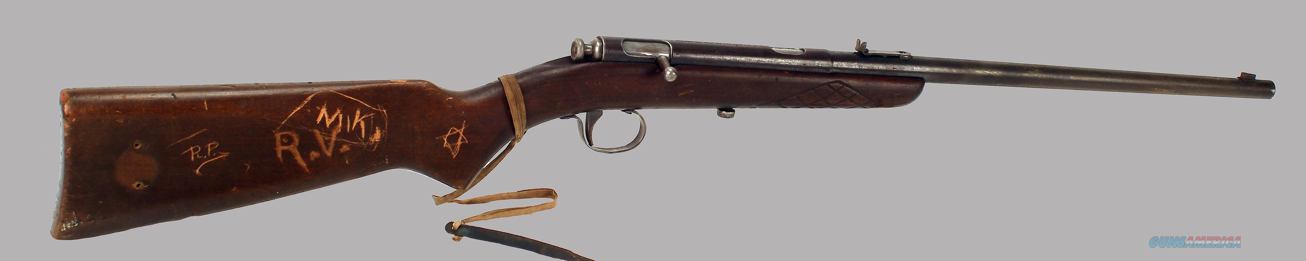 CJ Hamilton & Sons 22LR Model No47 Bolt Action Single Shot Rifle  Guns > Rifles > C Misc Rifles