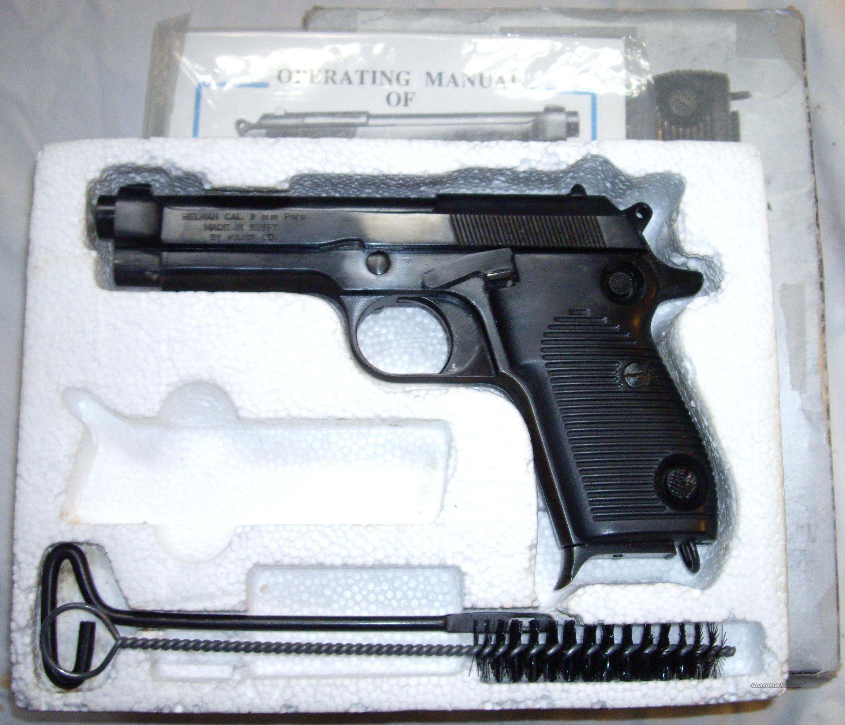 Helwan 9mm Serial Number