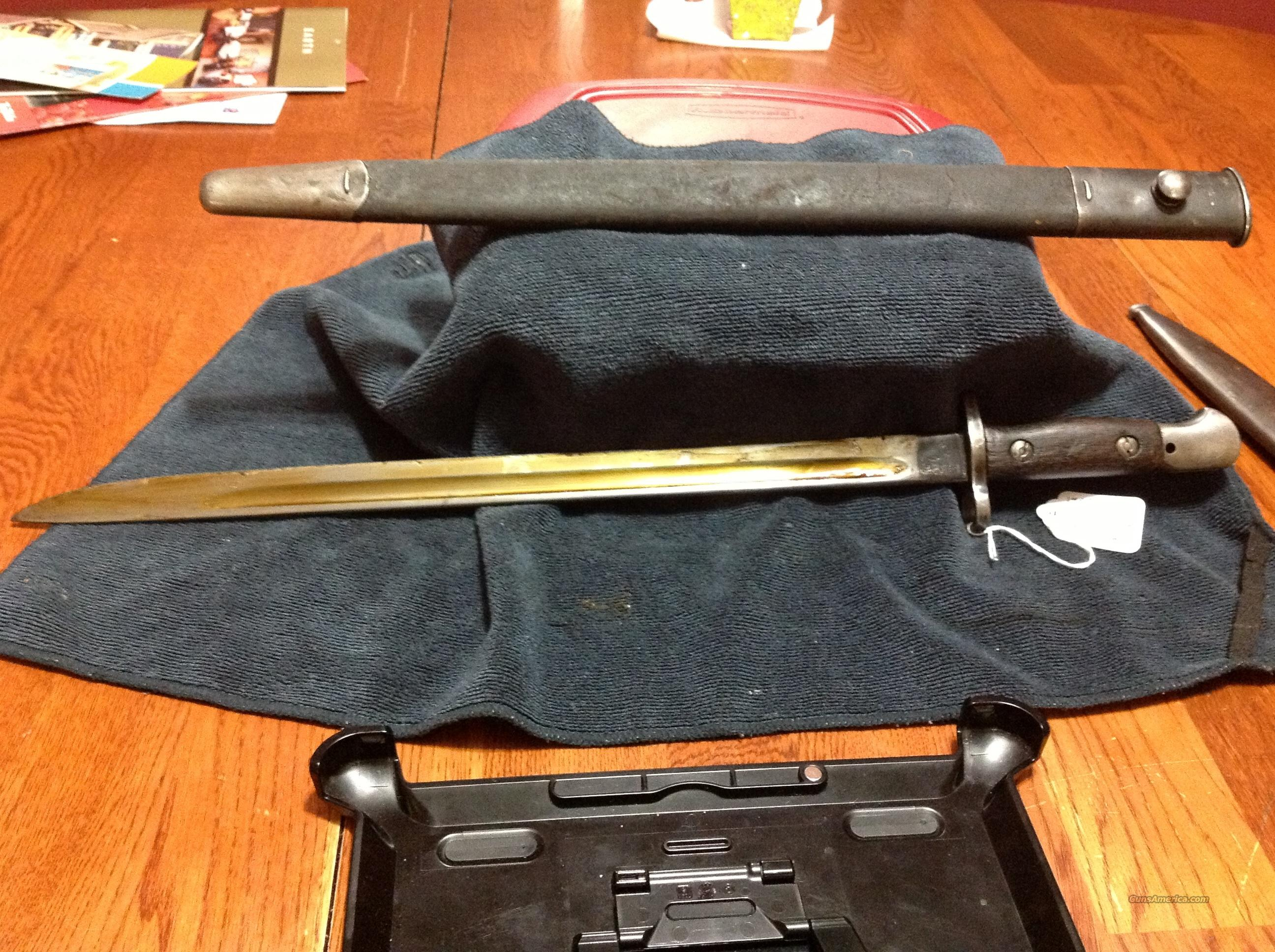 1907 enfield bayonet  Non-Guns > Knives/Swords > Military > Bayonets
