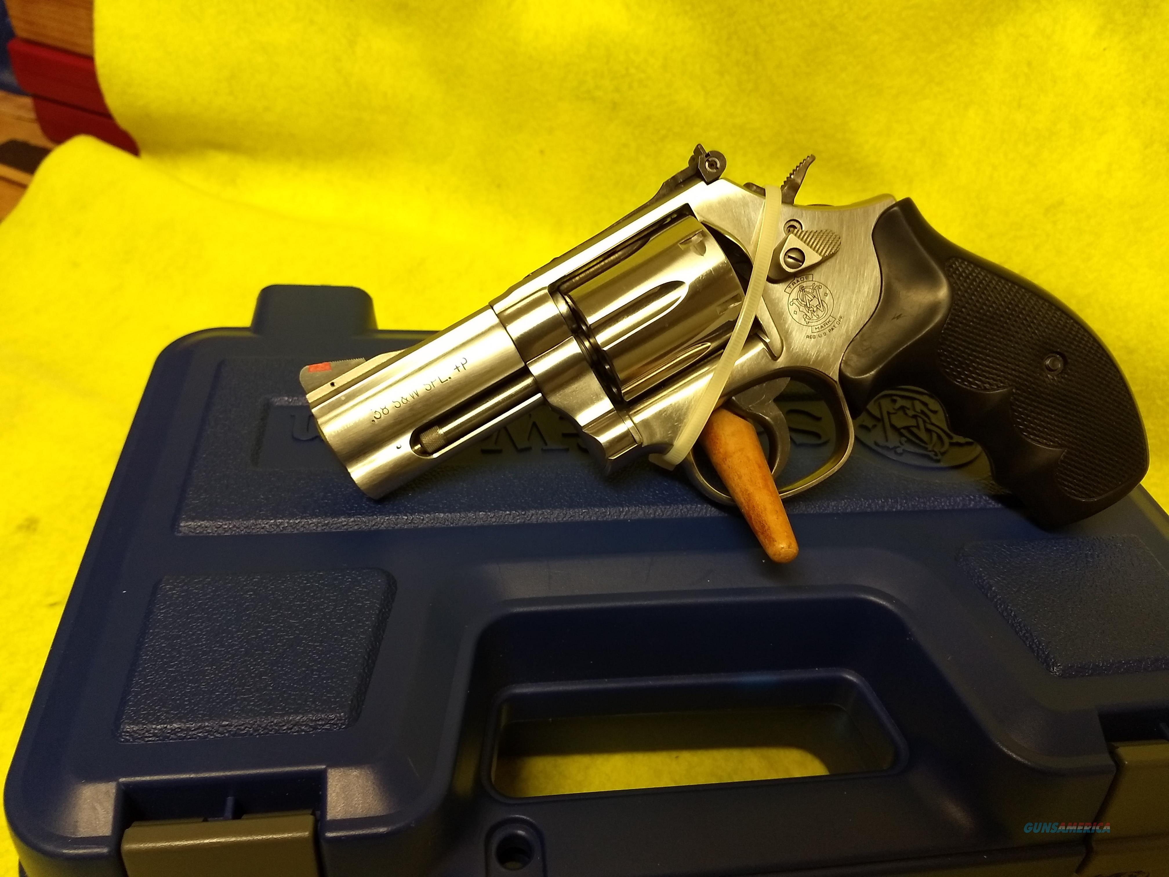 S & W 686-6 38SPCL + P  Guns > Pistols > Smith & Wesson Revolvers > Med. Frame ( K/L )