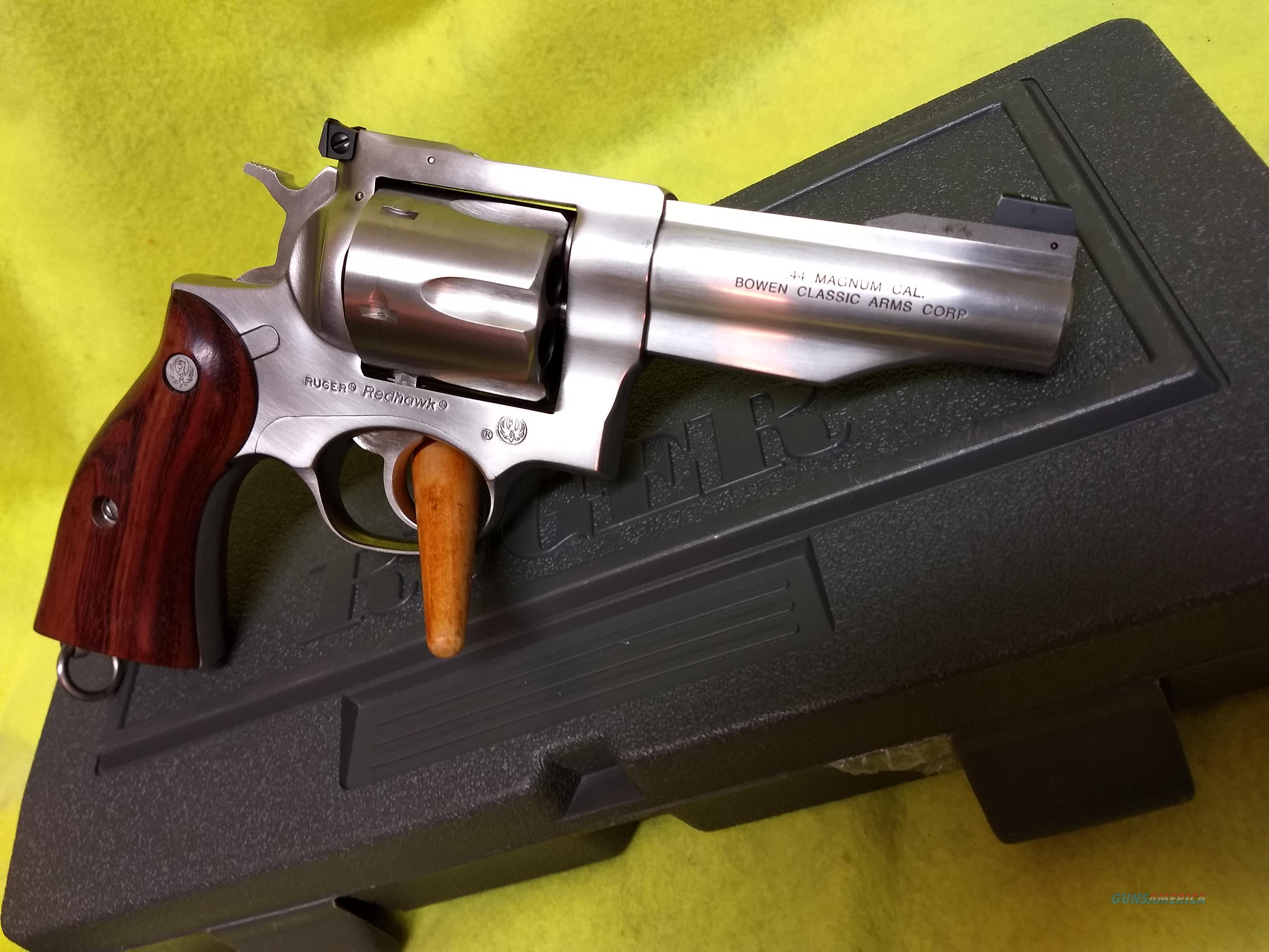 Ruger Redhawk Bowen Conversion  Guns > Pistols > Ruger Double Action Revolver > Redhawk Type