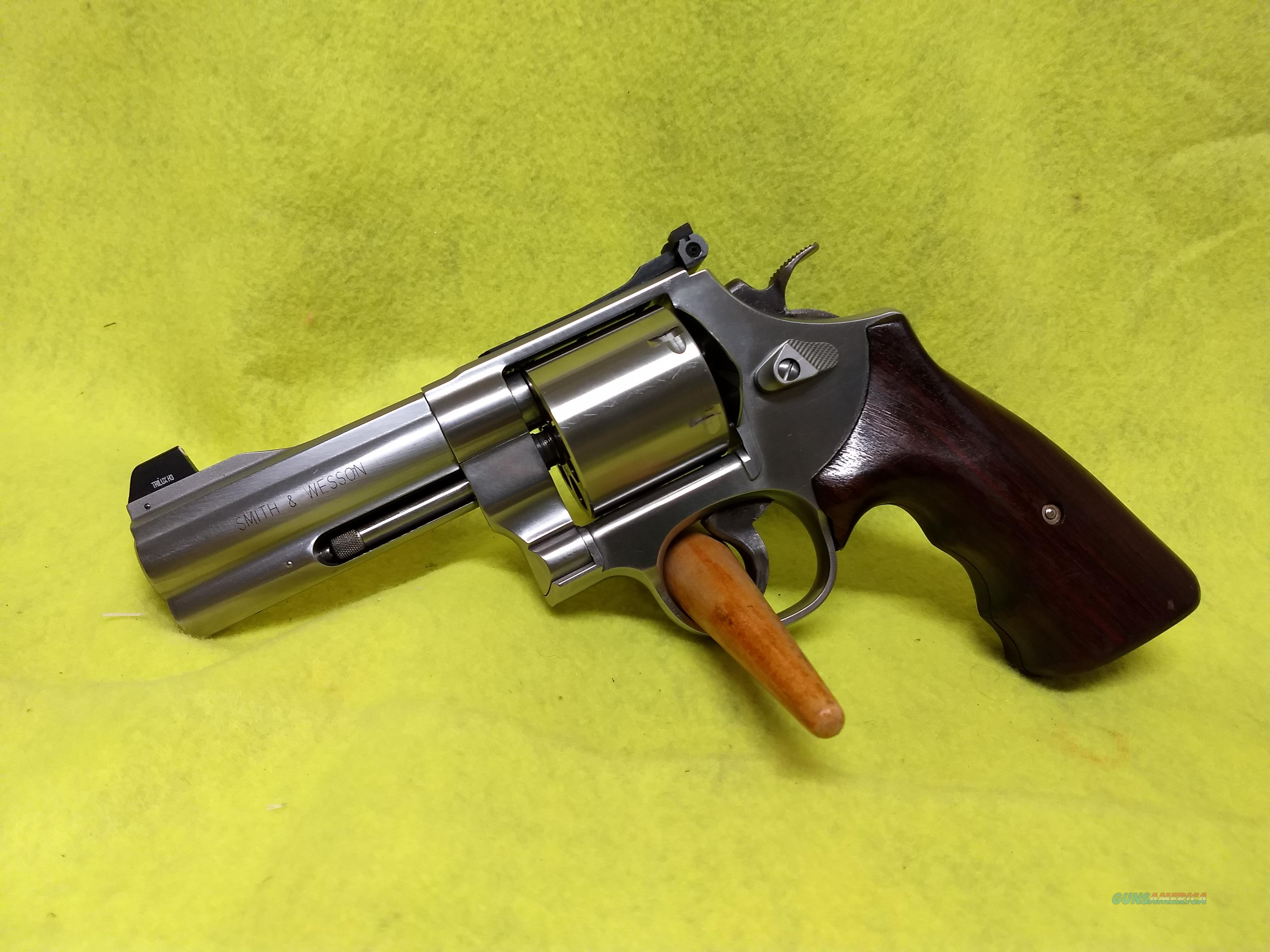 Smith & Wesson 610-2 Pre Lock 10mm  Guns > Pistols > Smith & Wesson Revolvers > Med. Frame ( K/L )