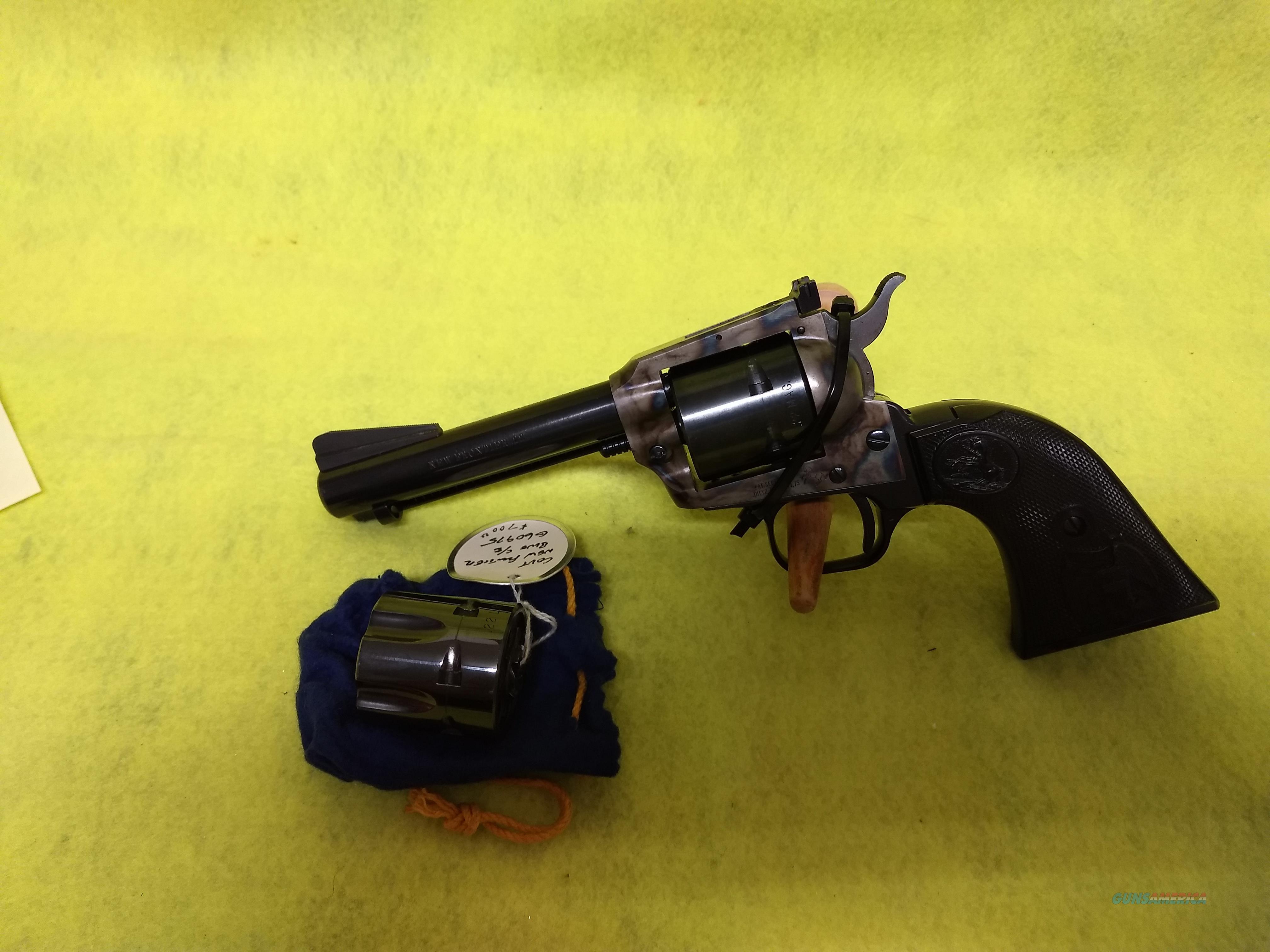 Colt New Frontier dual cylinder 22LR & 22MAGNUM  Guns > Pistols > Colt Single Action Revolvers - Modern (22 Cal.)