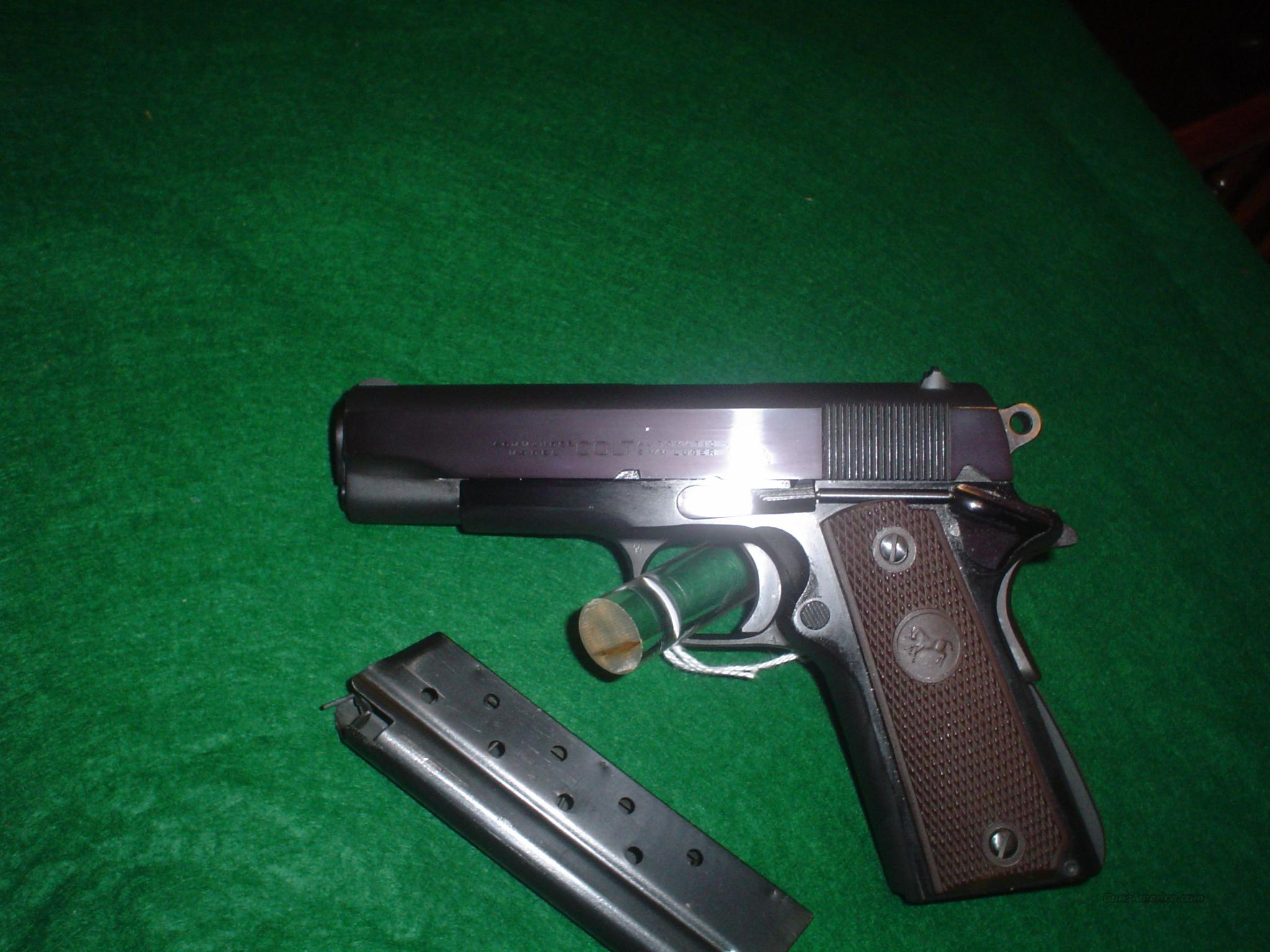 COLT LIGHT WEIGHT COMMANDER 9mm  Guns > Pistols > Colt Automatic Pistols (1911 & Var)
