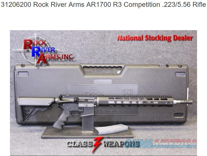 31206200 Rock River Arms AR1700 R3 Competition .223/5.56 Rifle  Guns > Rifles > Rock River Arms Rifles