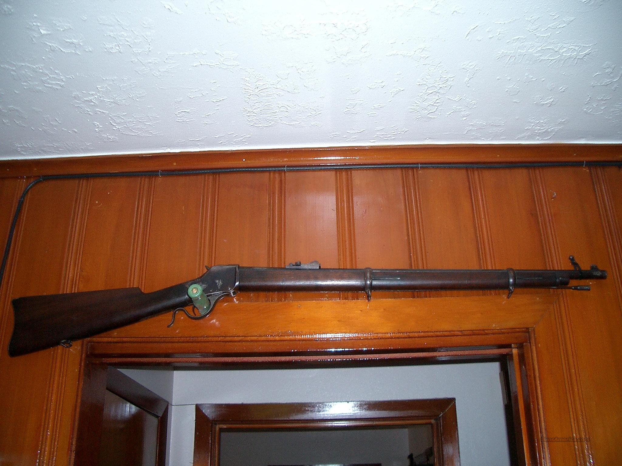 WINCHESTER HIGHWALL MUSKET 22LR  Guns > Rifles > Winchester Rifles - Pre-1899 Bolt/Single Shot