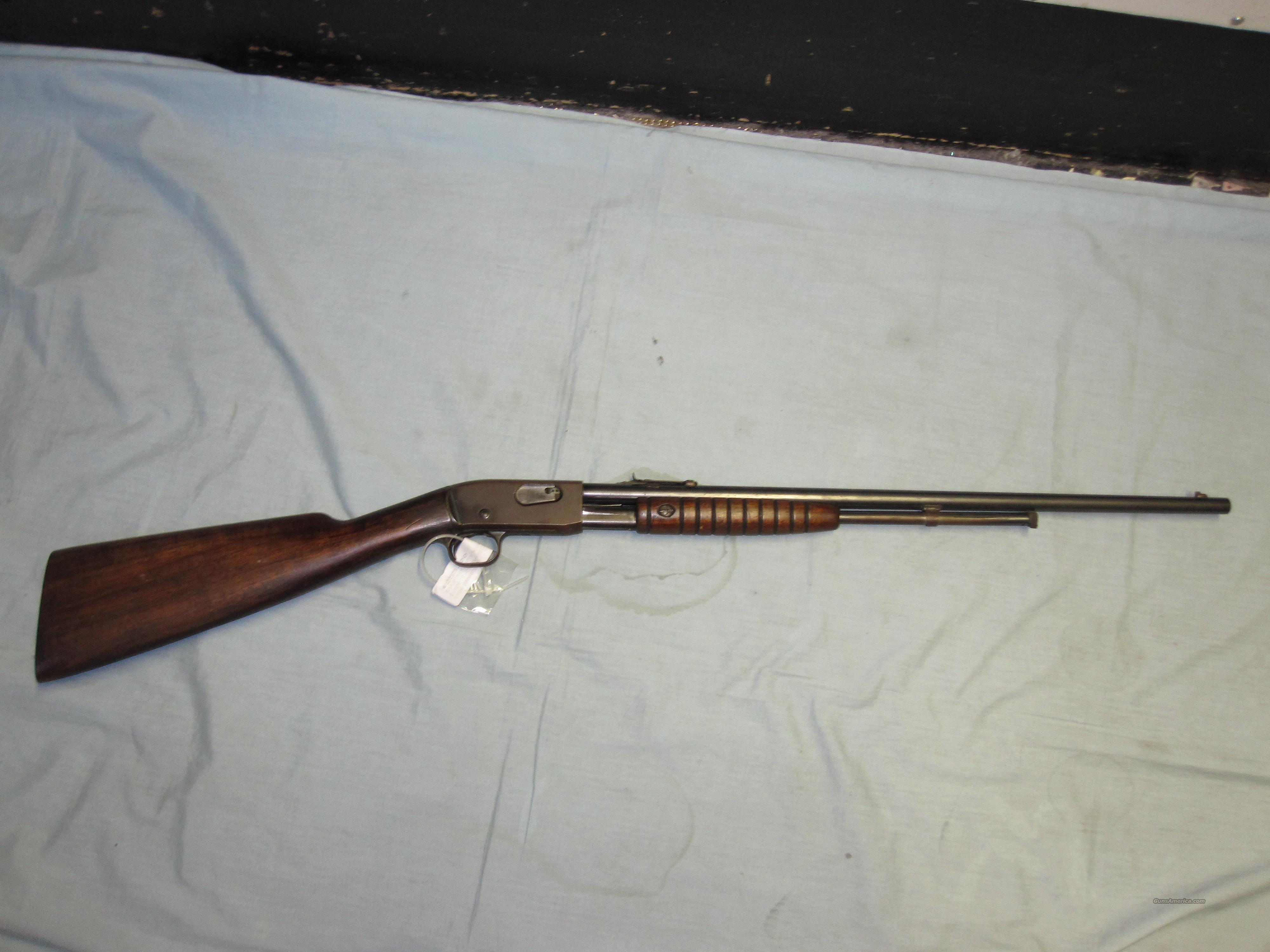 Remington mod# 12-A  pump action gallery gun .22 cal s/l/lr  Guns > Rifles > Remington Rifles - Modern > .22 Rimfire Models