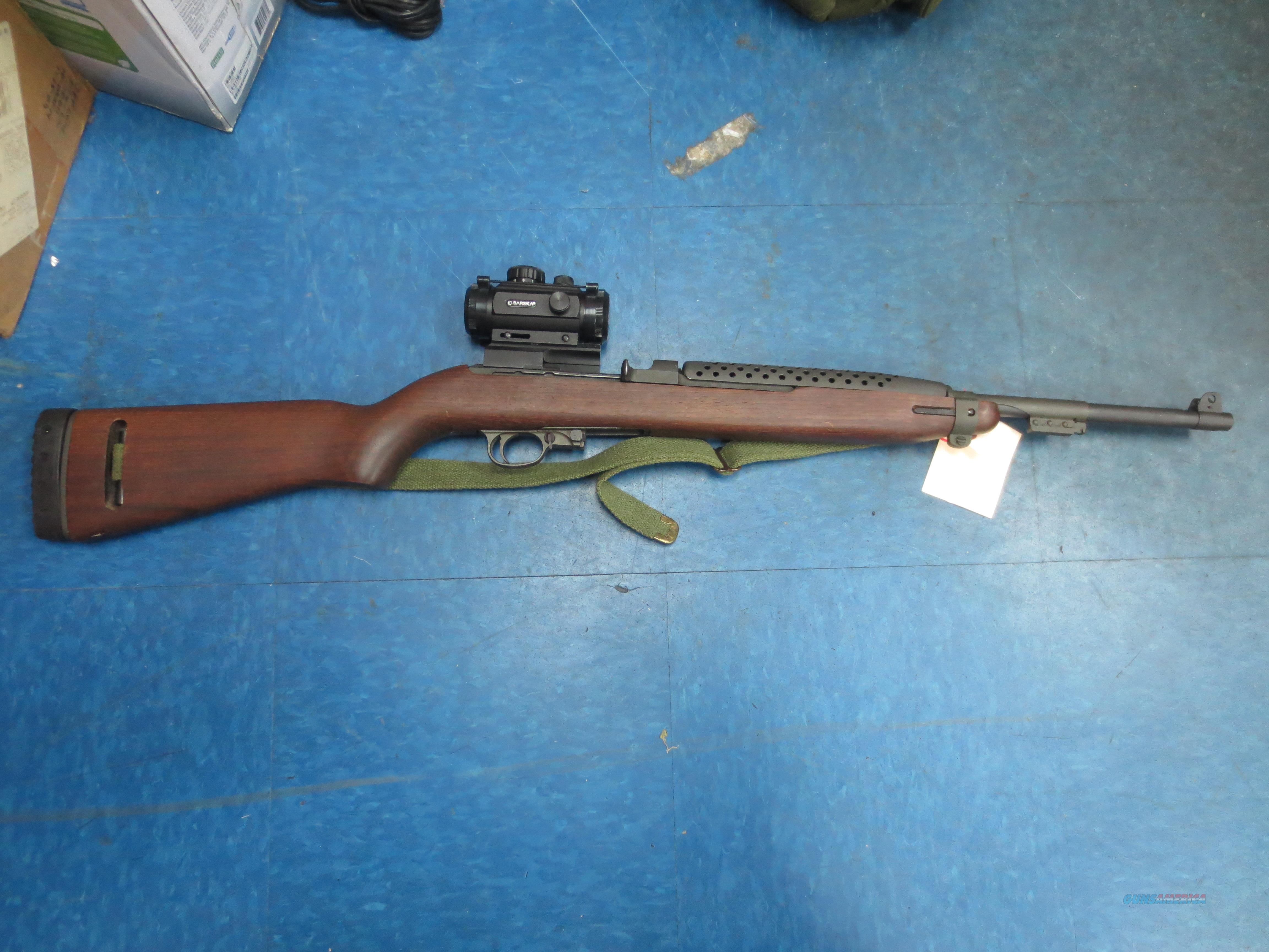 """US Carbine """"IMI"""" .30 Cal. with Red Dote scope  Guns > Rifles > Military Misc. Rifles US > M1 Carbine"""