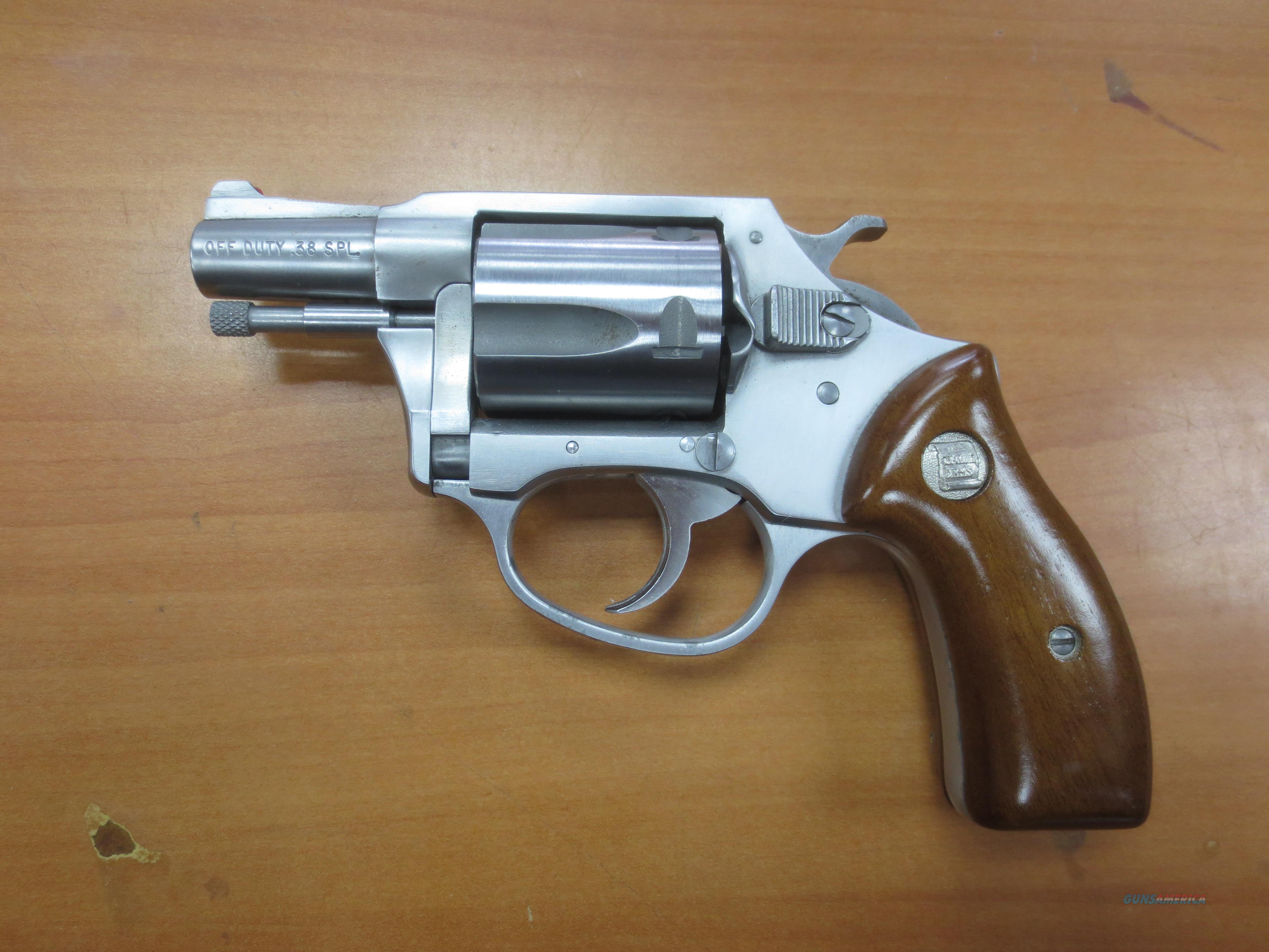 "Charter Arms ""Off Duty"" .38 spl 5 shot revolver  Guns > Pistols > Charter Arms Revolvers"