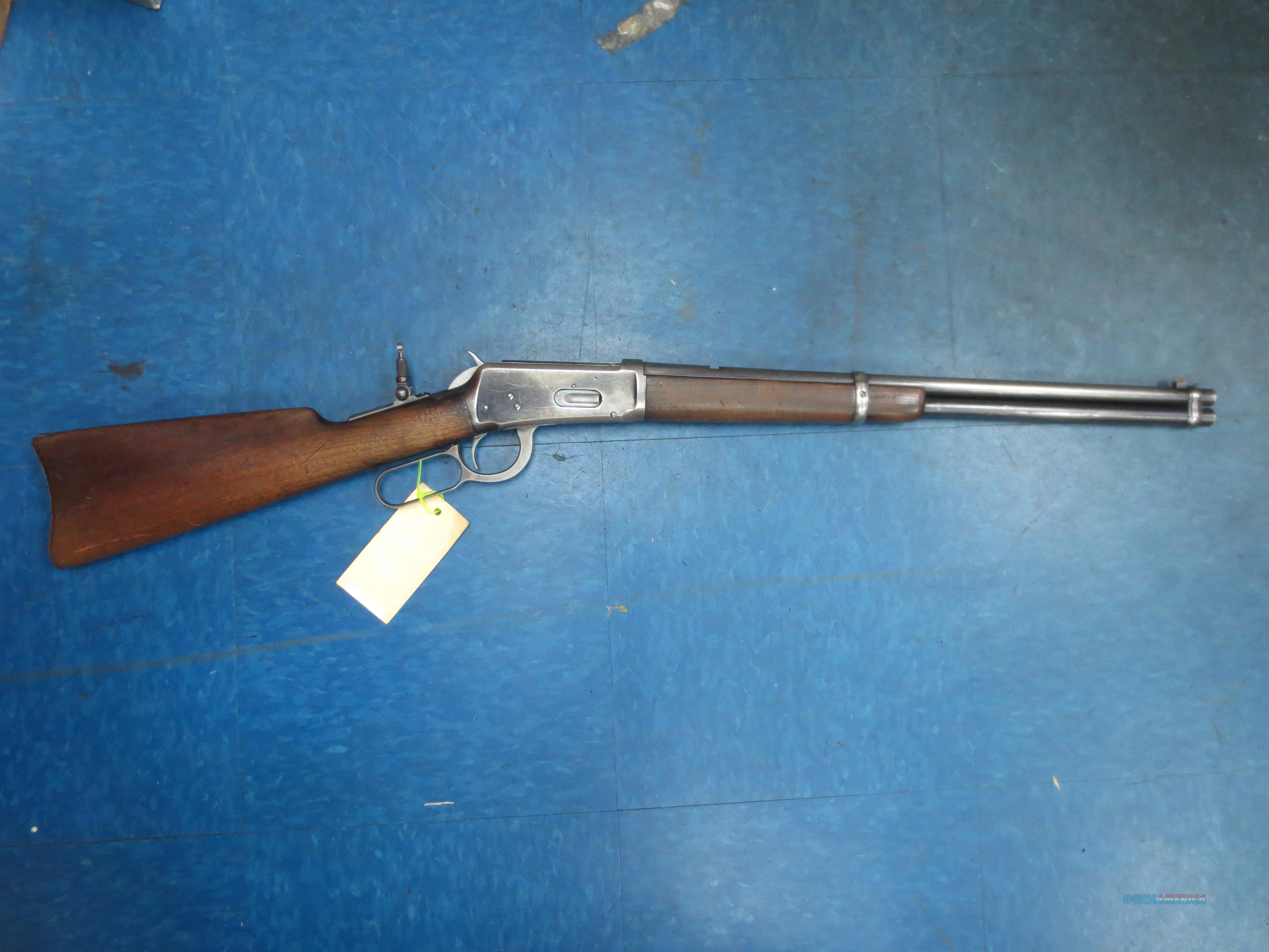 Winchester mod# 1894 sadle ring carbine (vintage 1900)   Guns > Rifles > Winchester Rifles - Modern Lever > Other Lever > Pre-64