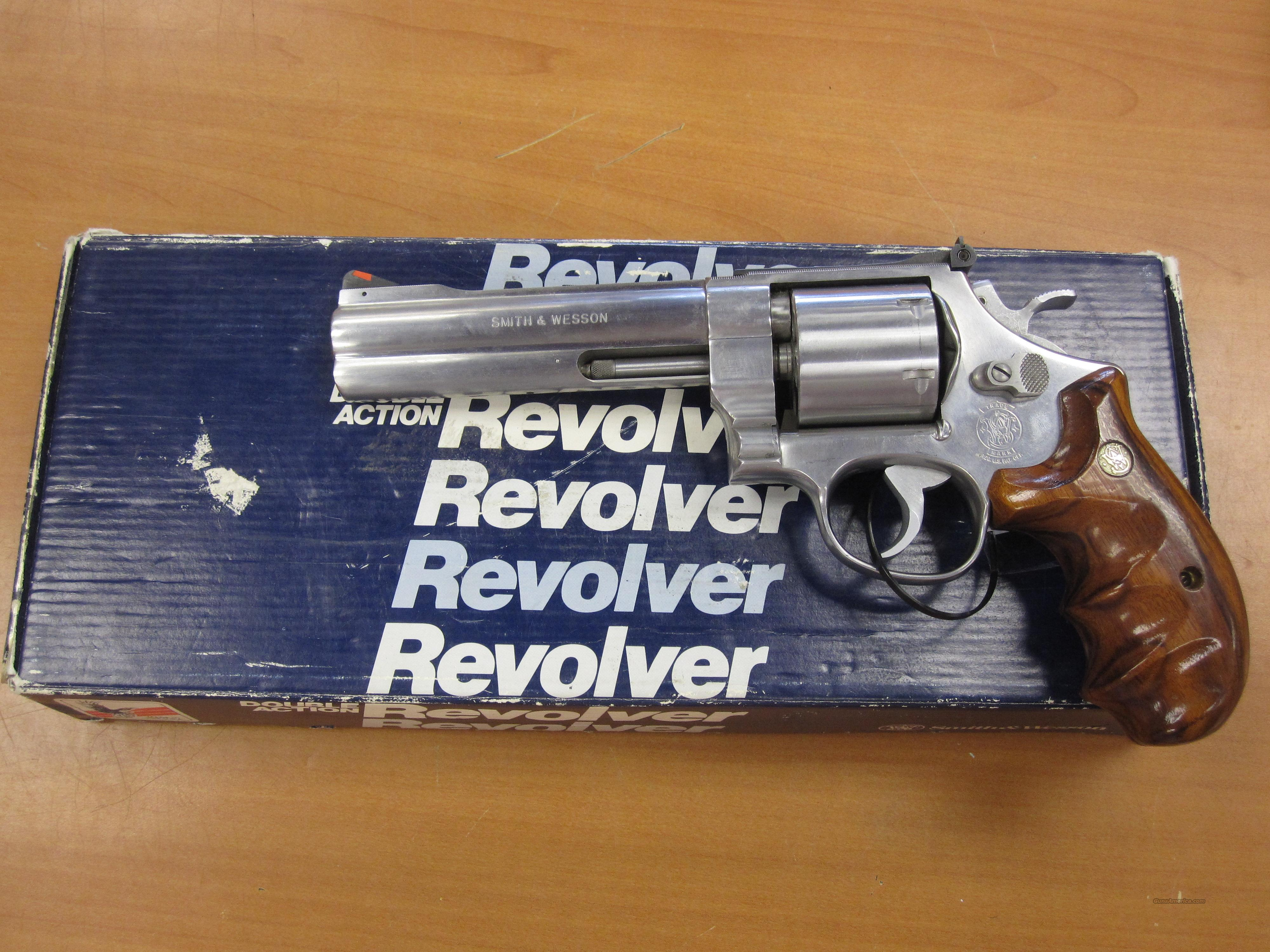 "S&W mod# 627-0 ""1989"" vintage 5.5"" unfluted cylinder 6 shot stainless  Guns > Pistols > Smith & Wesson Revolvers > Full Frame Revolver"