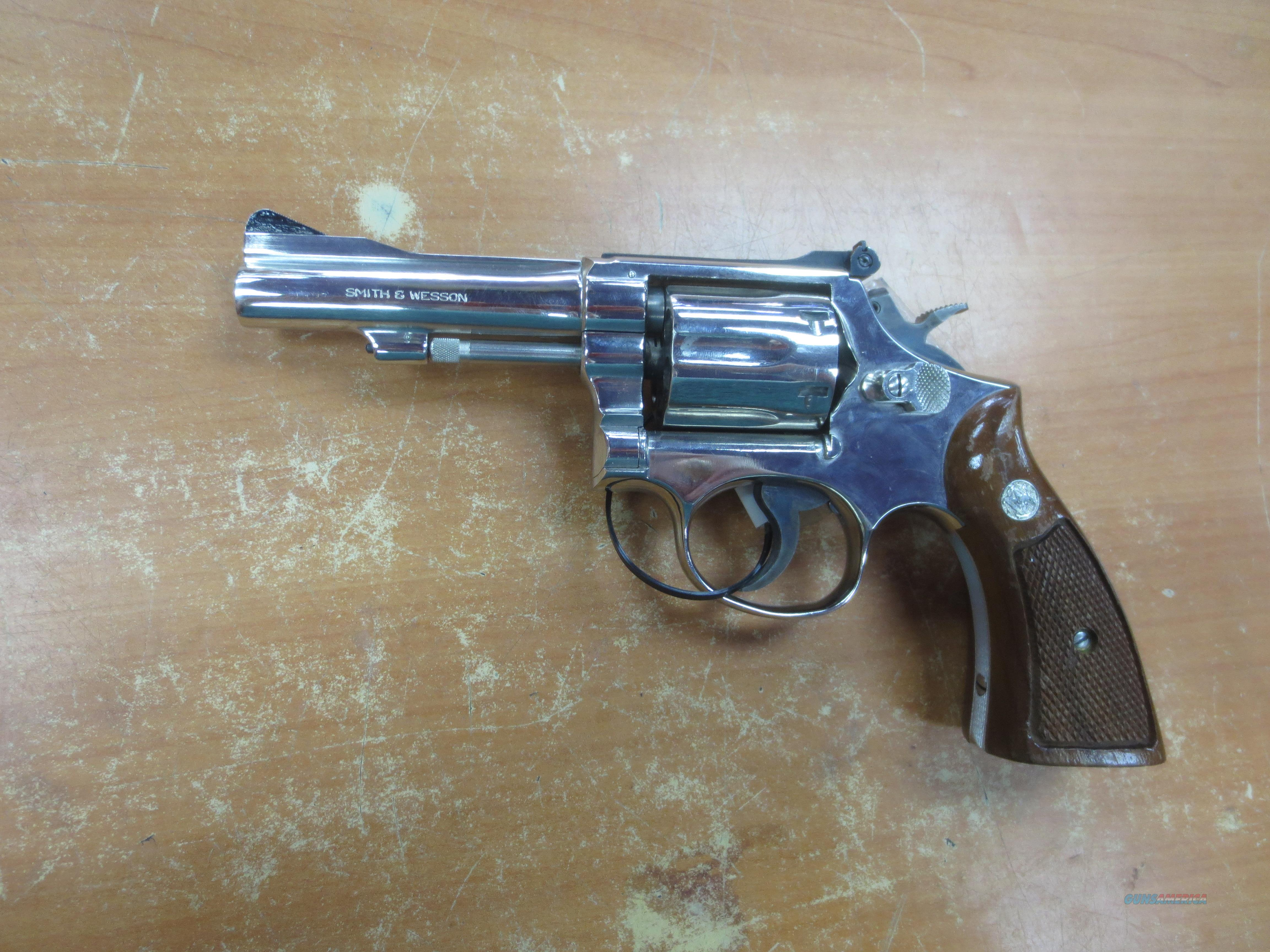 S&W mod# 15-3  Nickle Finish  .38 speciel  Guns > Pistols > Smith & Wesson Revolvers > Full Frame Revolver