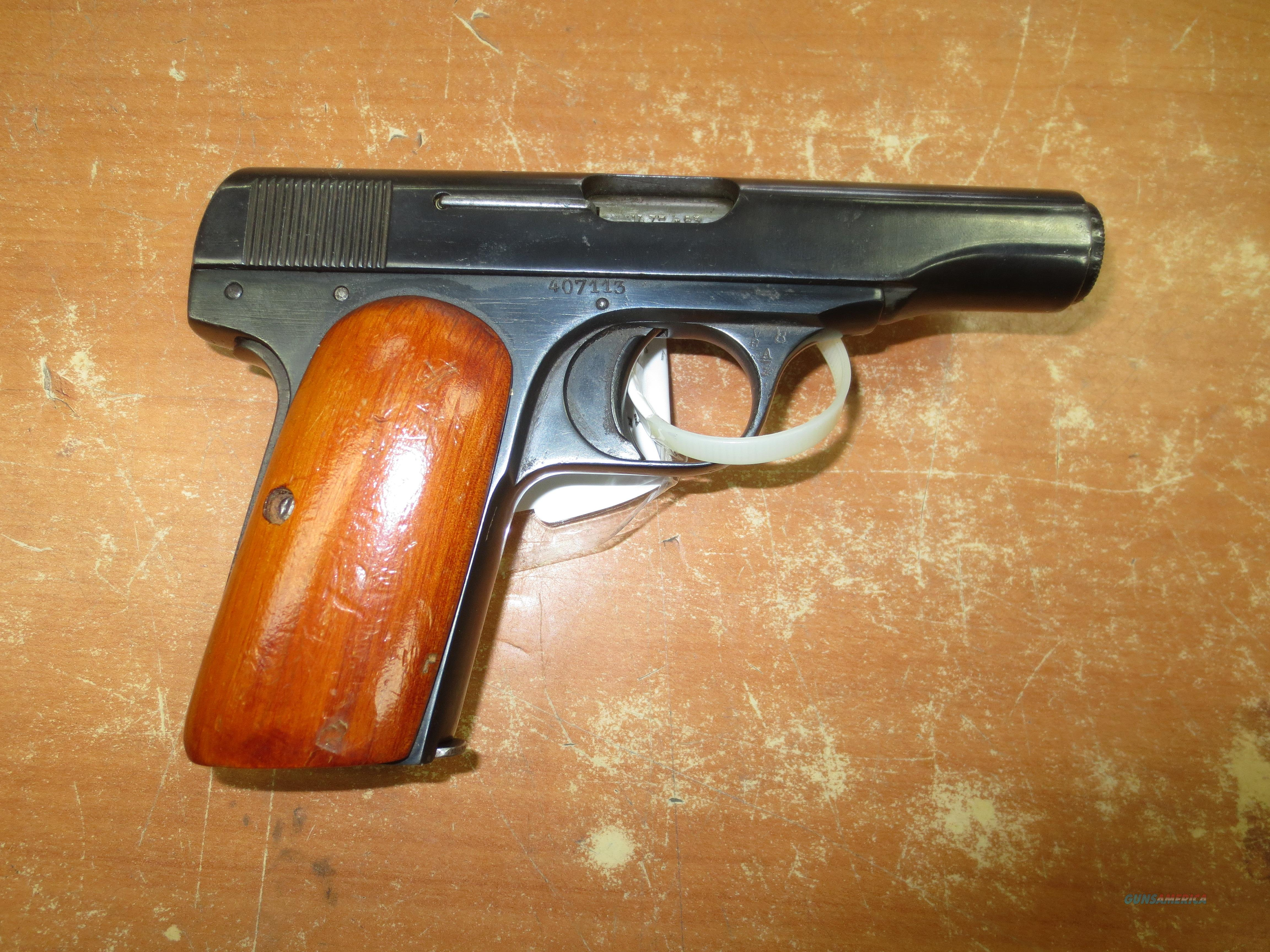 Browning FN 1910 pistol 7.65mm Custom grips  Guns > Pistols > Browning Pistols > Other Autos