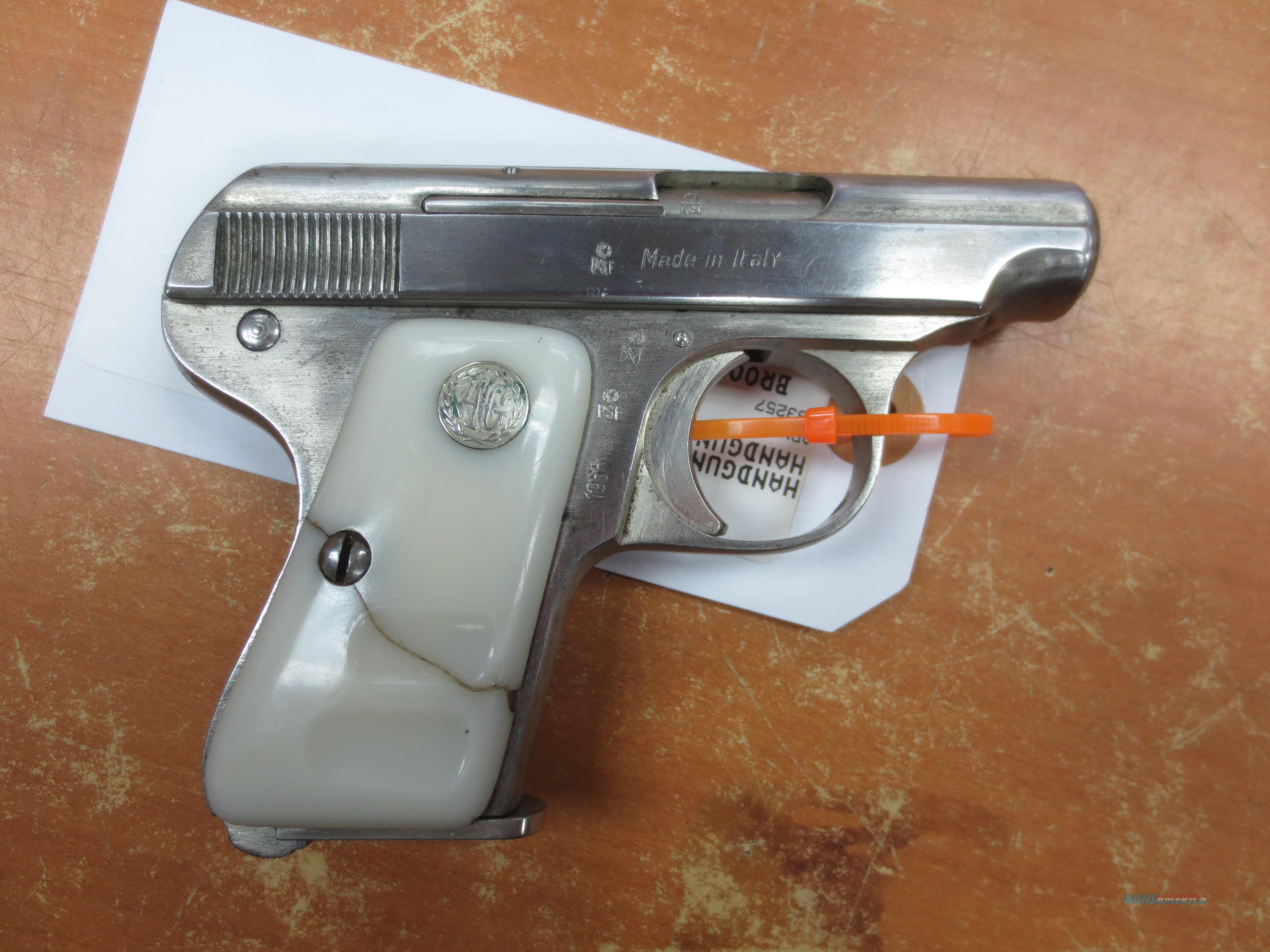 Armi Galesi Brescia Brevetto 6.35mm   Guns > Pistols > A Misc Pistols