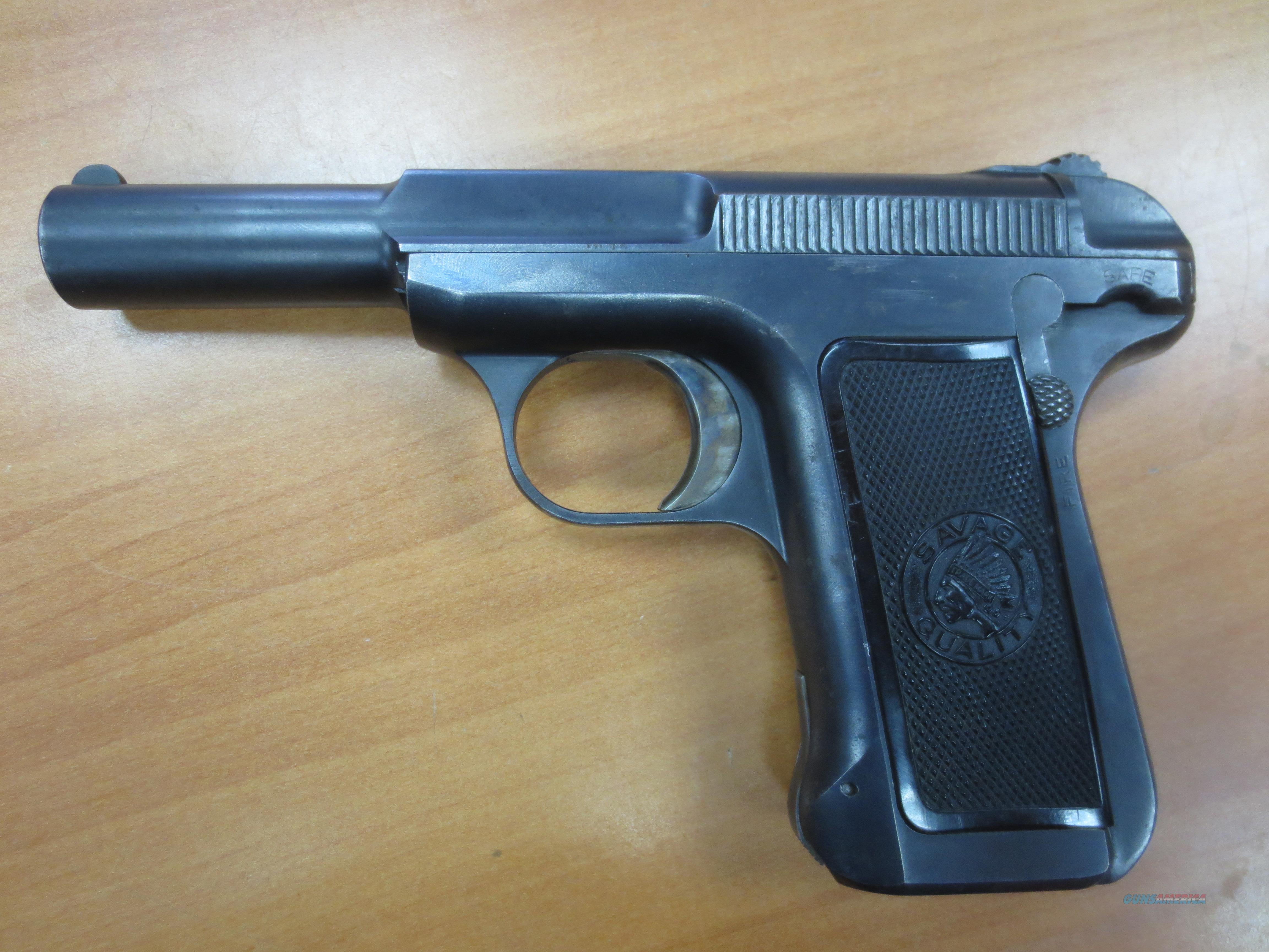 Savage arms mod#1905 pistol 32 cal 7.65mm  Guns > Pistols > Savage Pistols