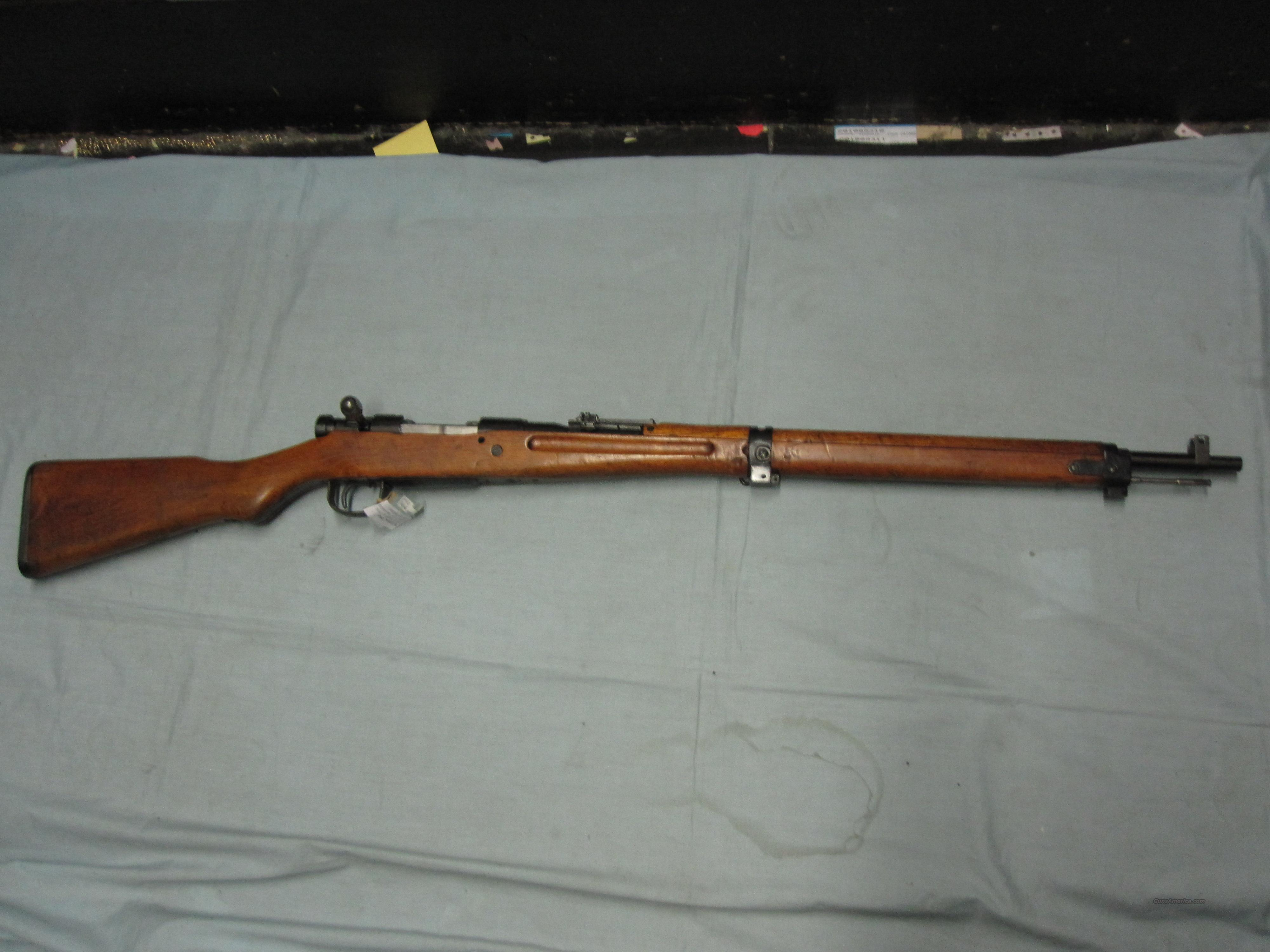 Arisaka type 99 (japan) 6.5mm rifle bolt action  Guns > Rifles > Military Misc. Rifles Non-US > Other