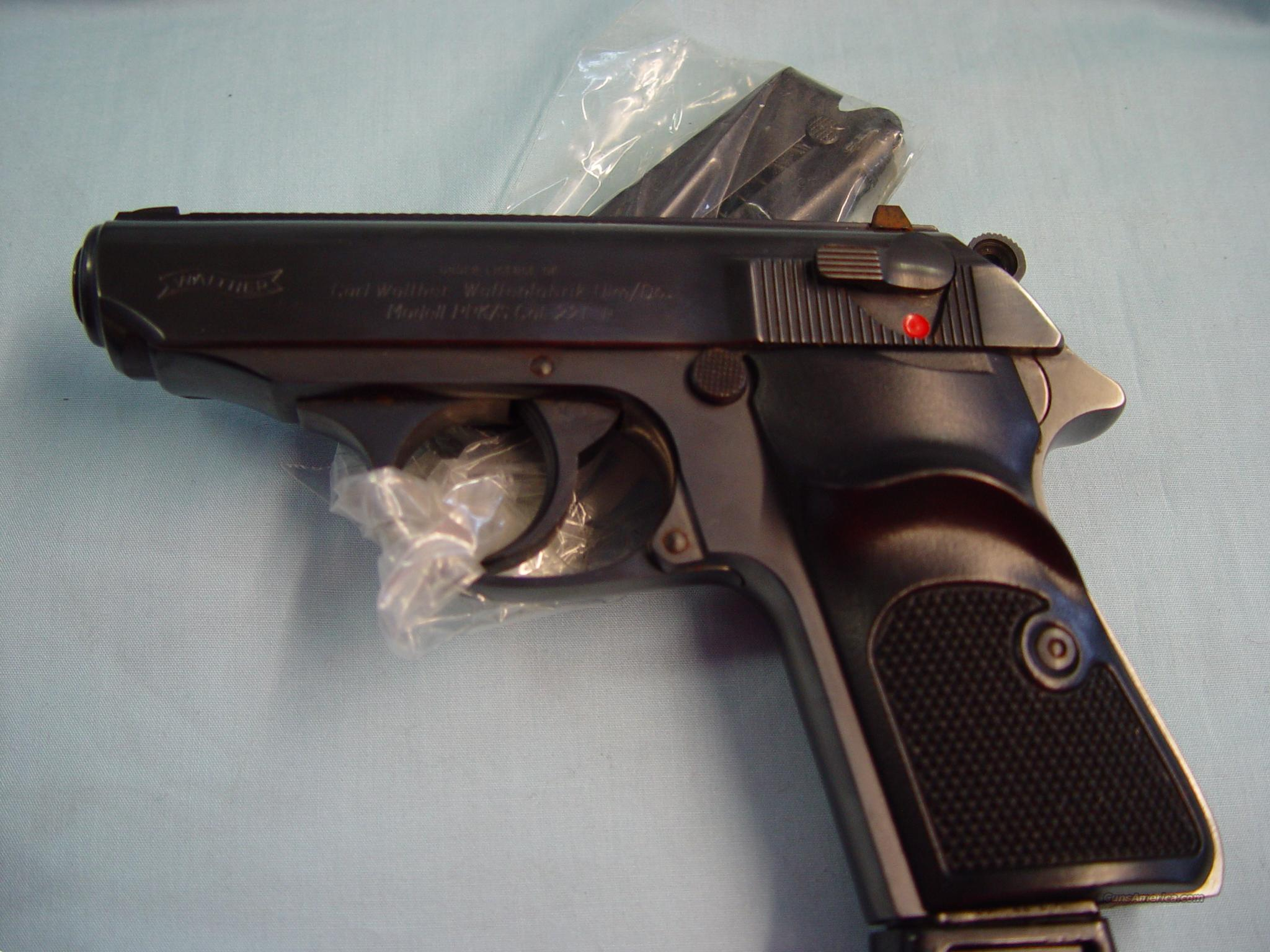 Walther mod# PPK/S 22cal Interarm import from france   Guns > Pistols > Walther Pistols > Post WWII > PP Series