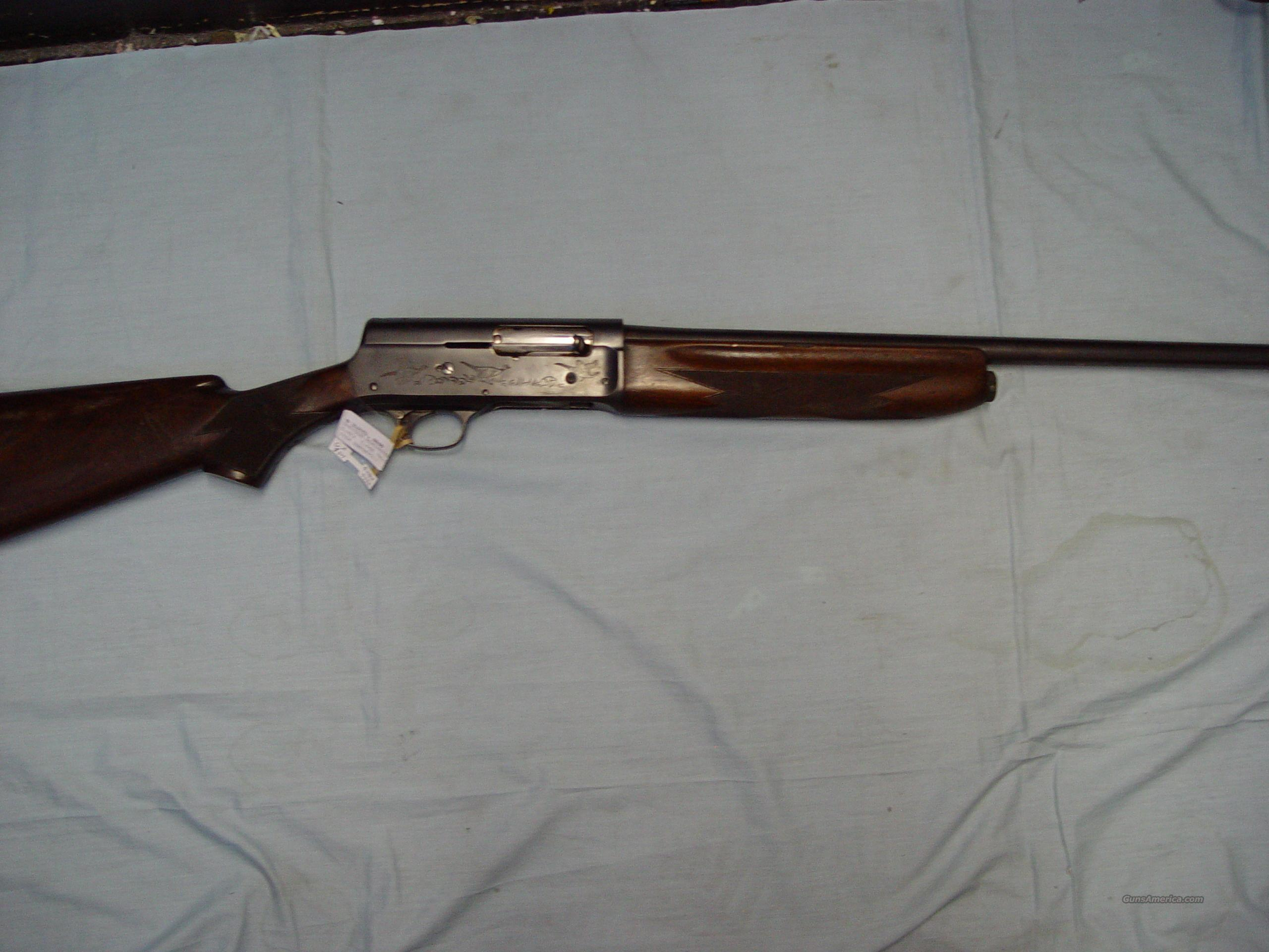 "Remington ""The Sportsman"" 16 gauge shotgun semi... for sale"