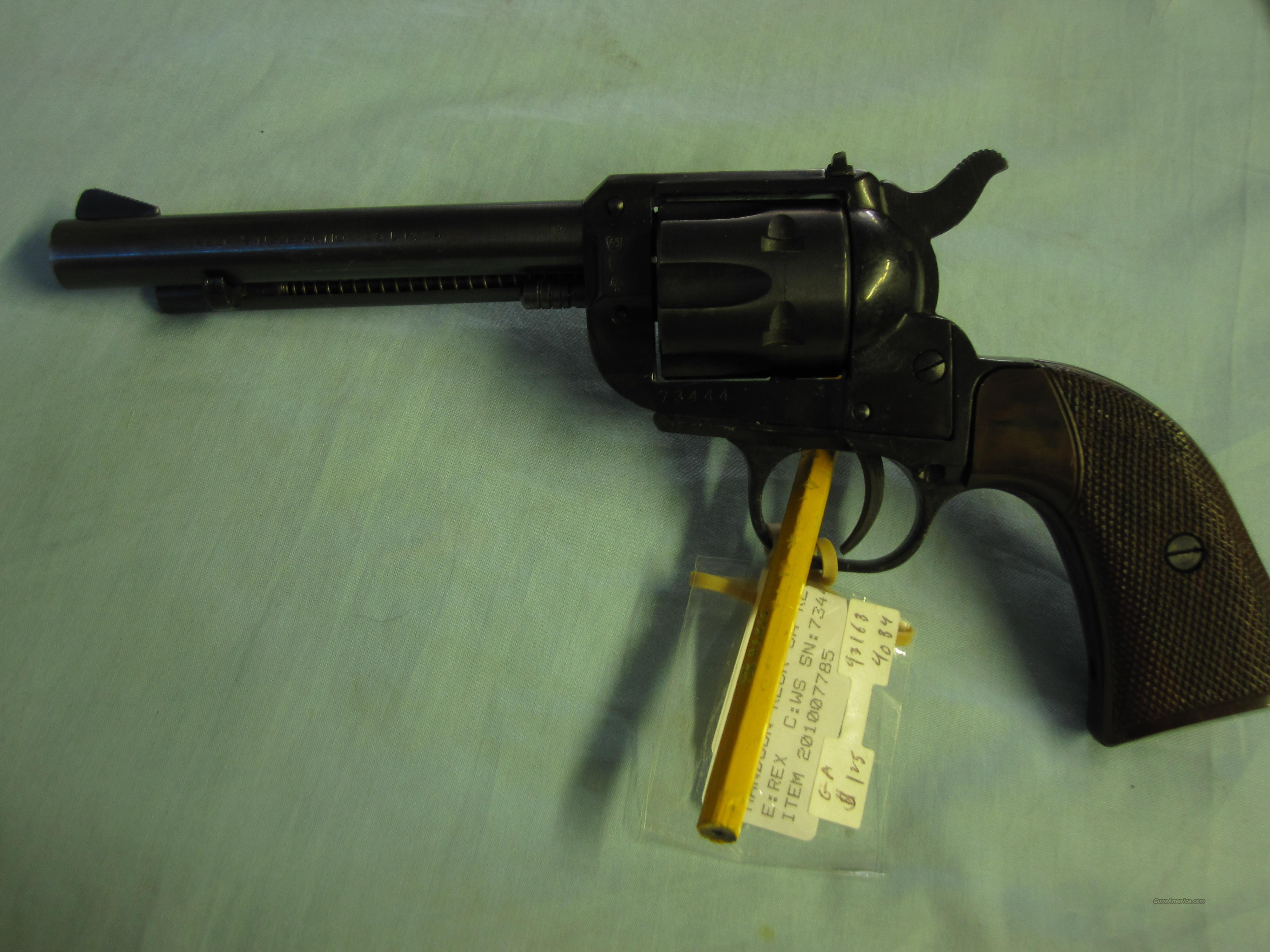 Reck .22 lr cal  (made in Germany) cowboy action revlver  Guns > Pistols > Cowboy Action Pistol Misc.