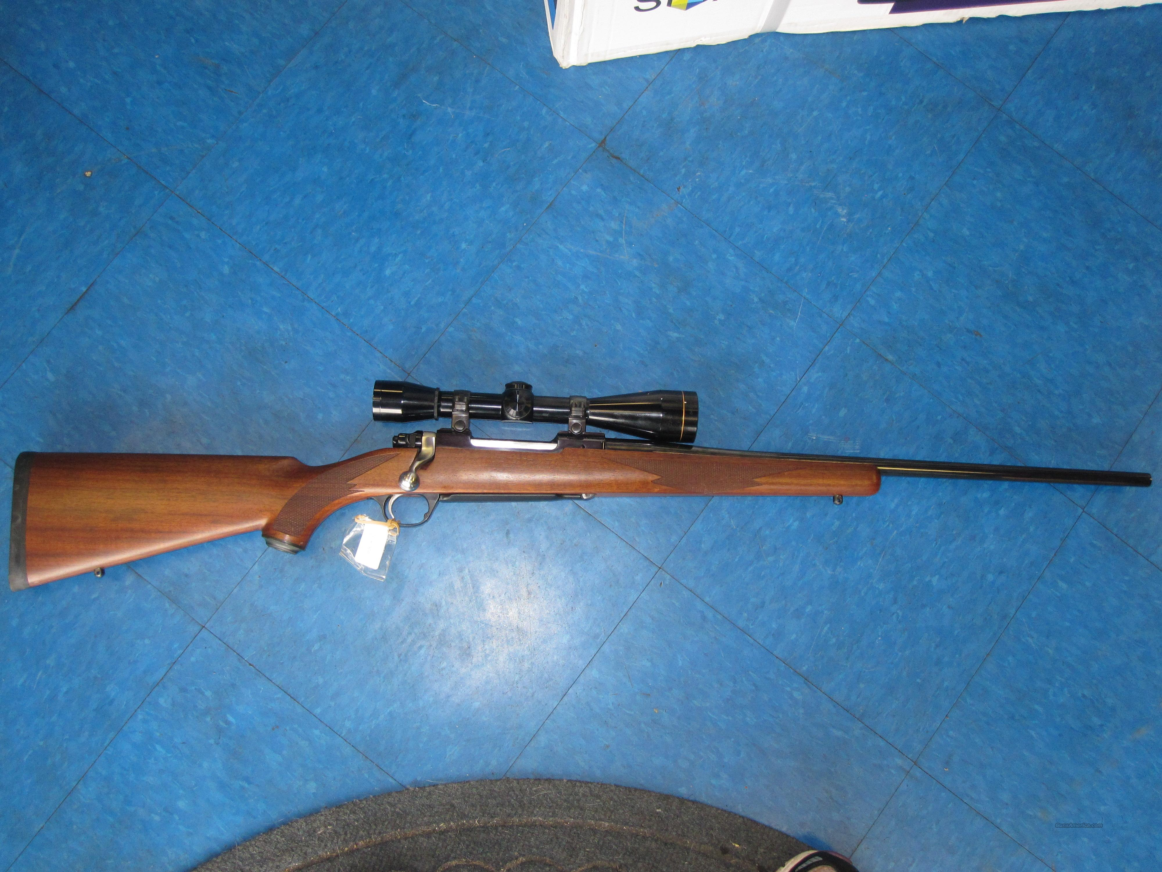 Ruger mod#77 Mk-2 bolt action 30-06 rifle w/scope  Guns > Rifles > Ruger Rifles > Model 77