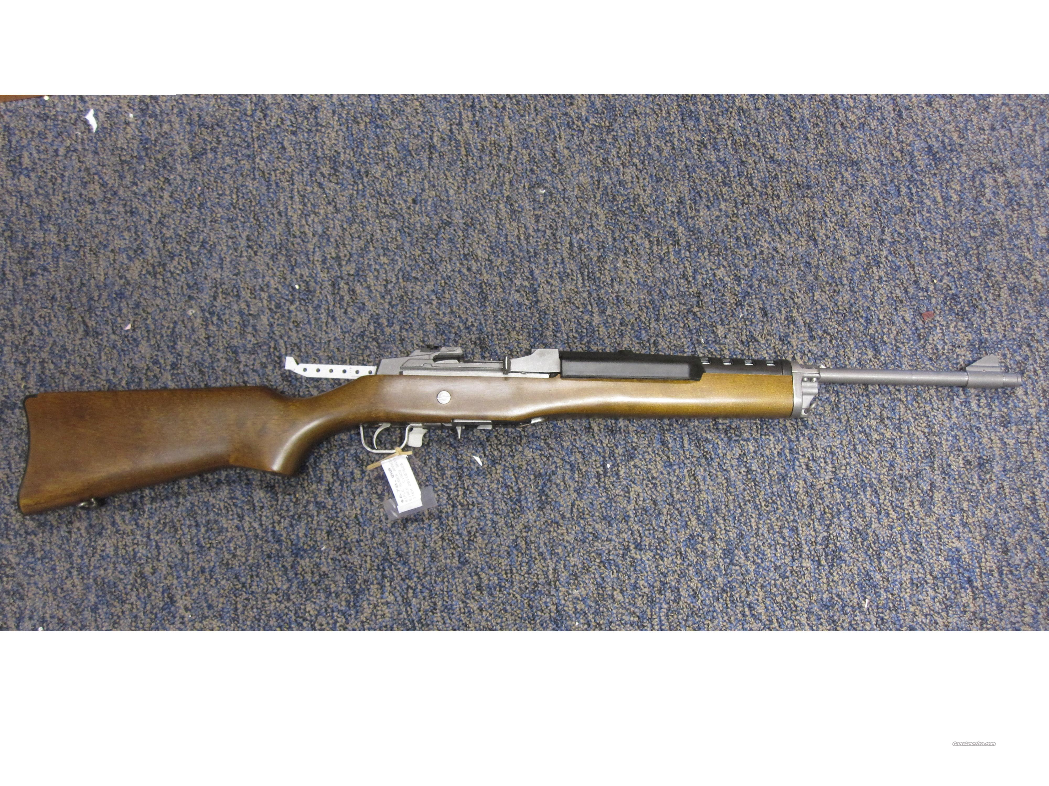Ruger mod# Ranch Rifle Stainless .223 cal w/orig box  Guns > Rifles > Ruger Rifles > Mini-14 Type