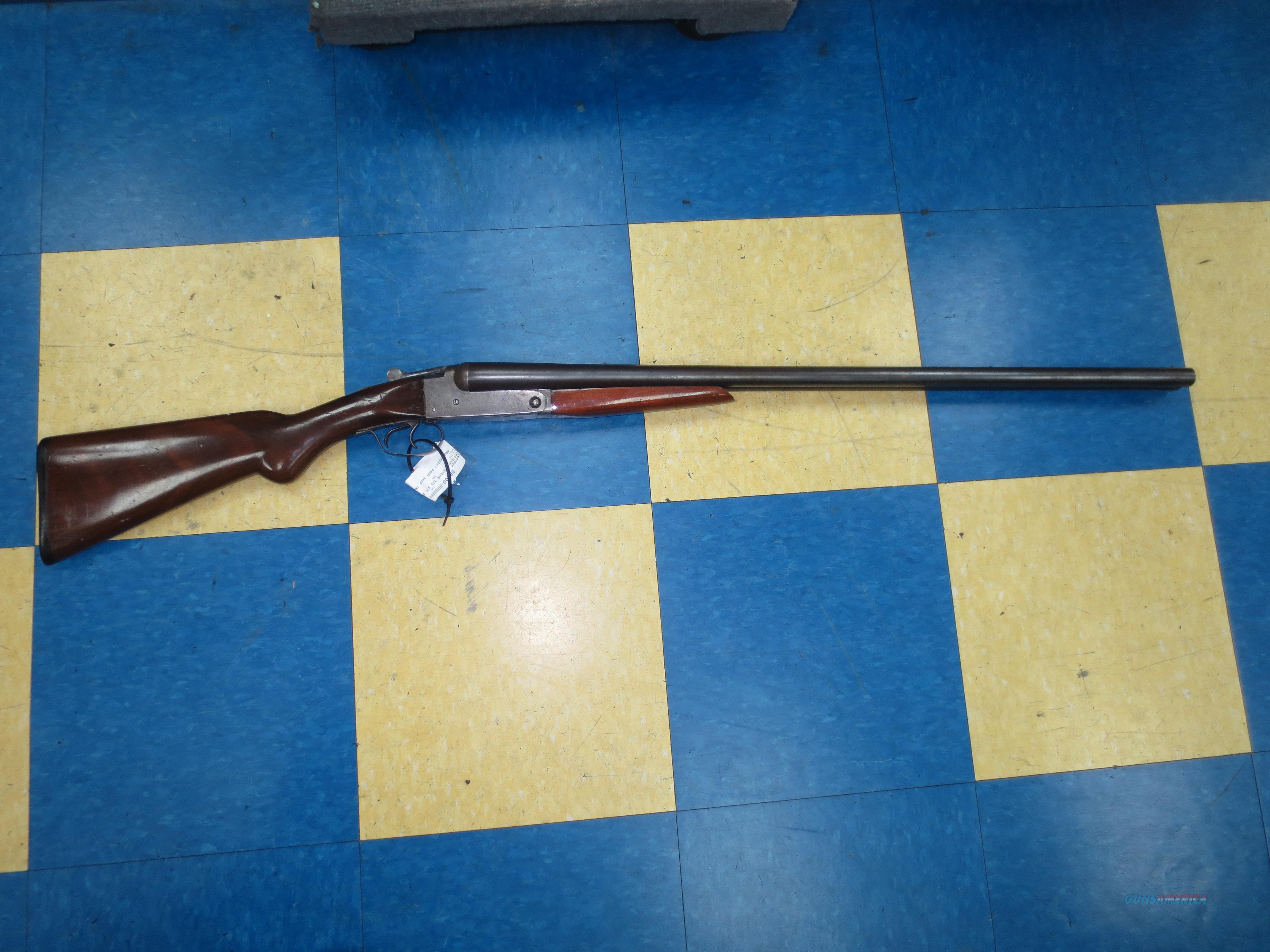 Stevens model 335 SxS 12 gauge Dual trigger  Guns > Shotguns > Stevens Shotguns