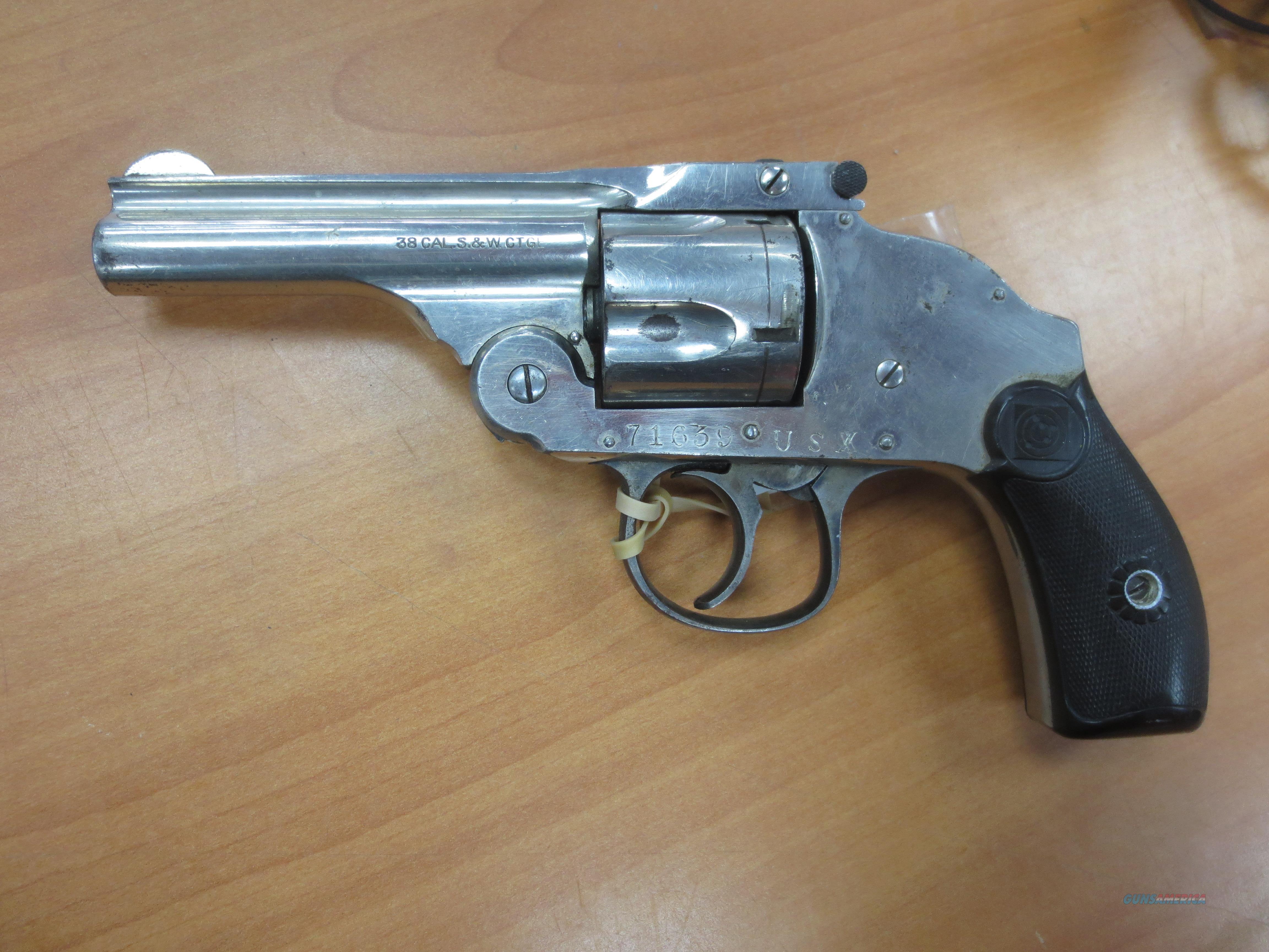 H&R auto ejector (break top revolver) Pre 1899  Guns > Pistols > Harrington & Richardson Pistols