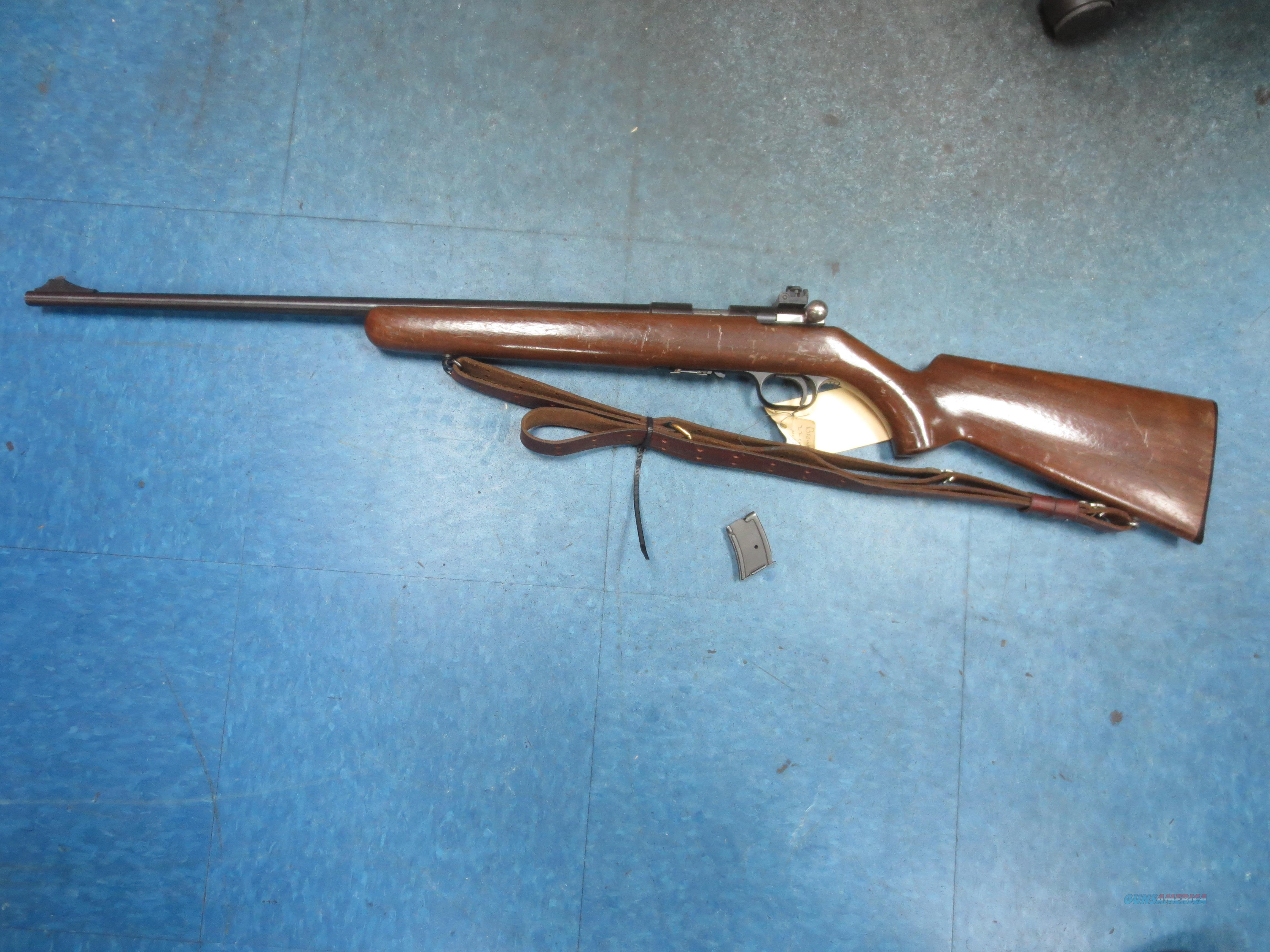 Browning Mod# T-BOLT T-1 (LEFT Handed) 22 cal with 2 magazines  Guns > Rifles > Browning Rifles > Bolt Action > Hunting > Blue