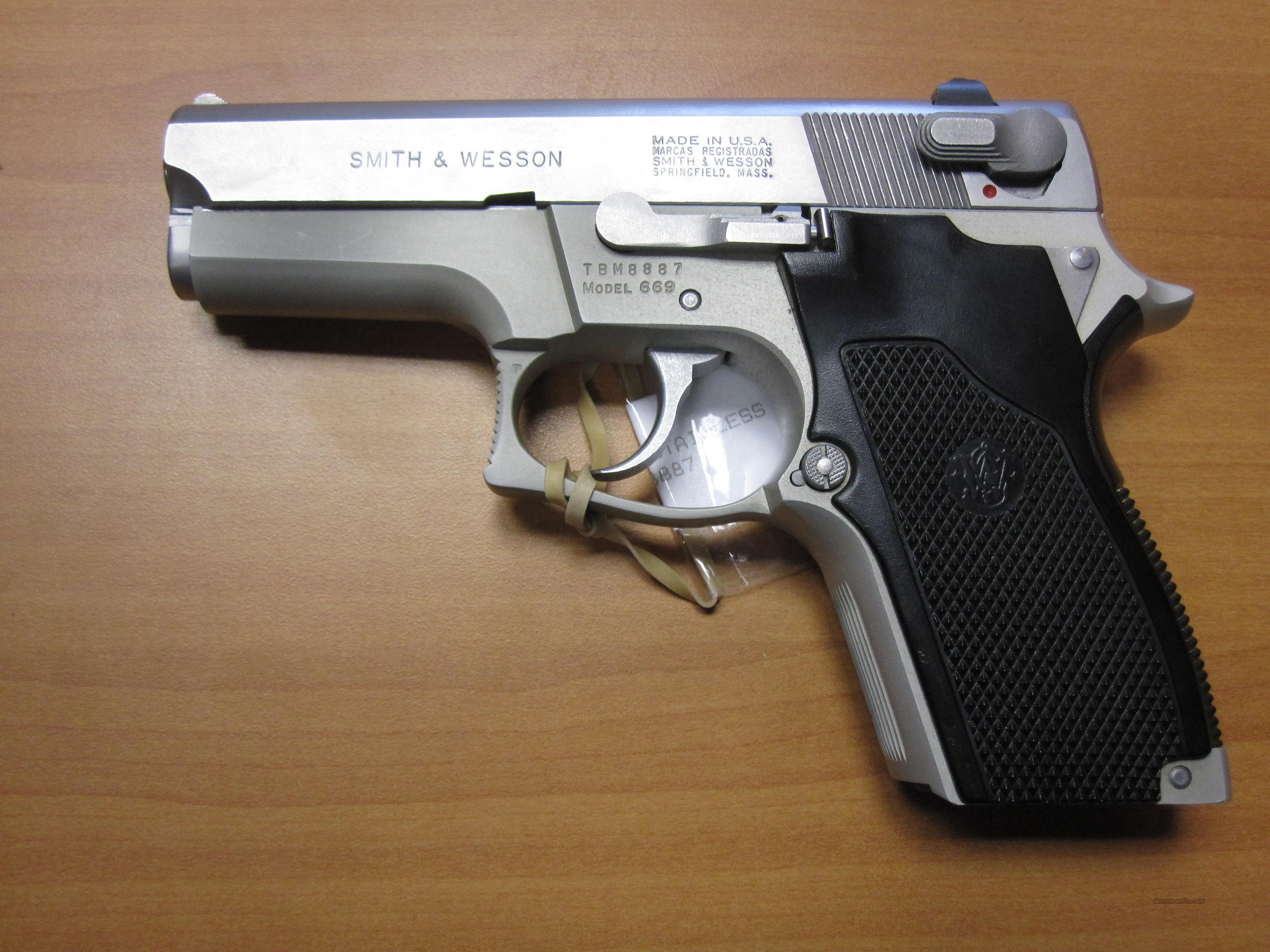 "smith & wesson mod# 669 3.5"" 9mm pistol   Guns > Pistols > Smith & Wesson Pistols - Autos > Alloy Frame"