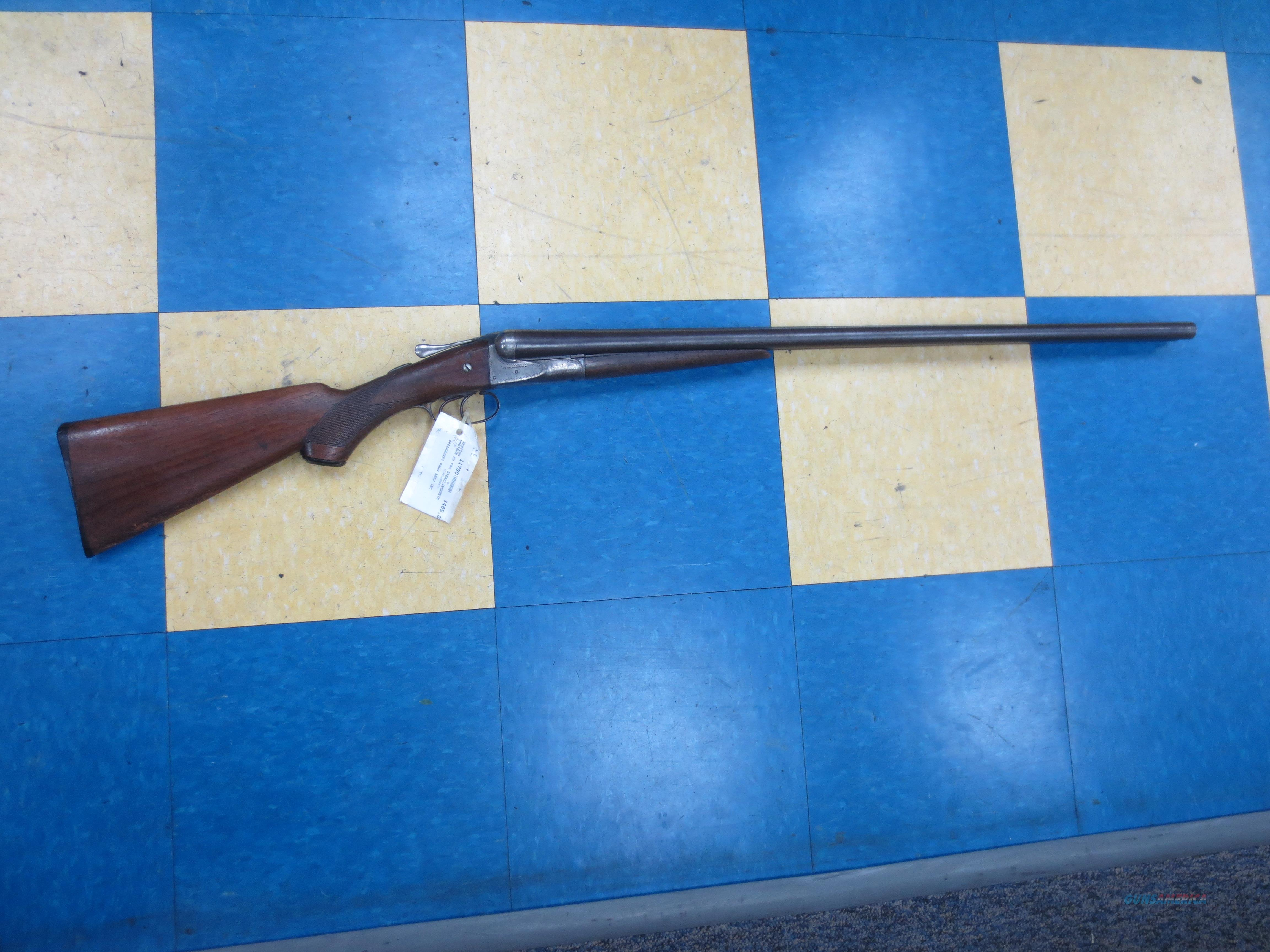 AW Fox Sterlingworth SxS 12 gauge sotgun  Guns > Shotguns > Fox Shotguns