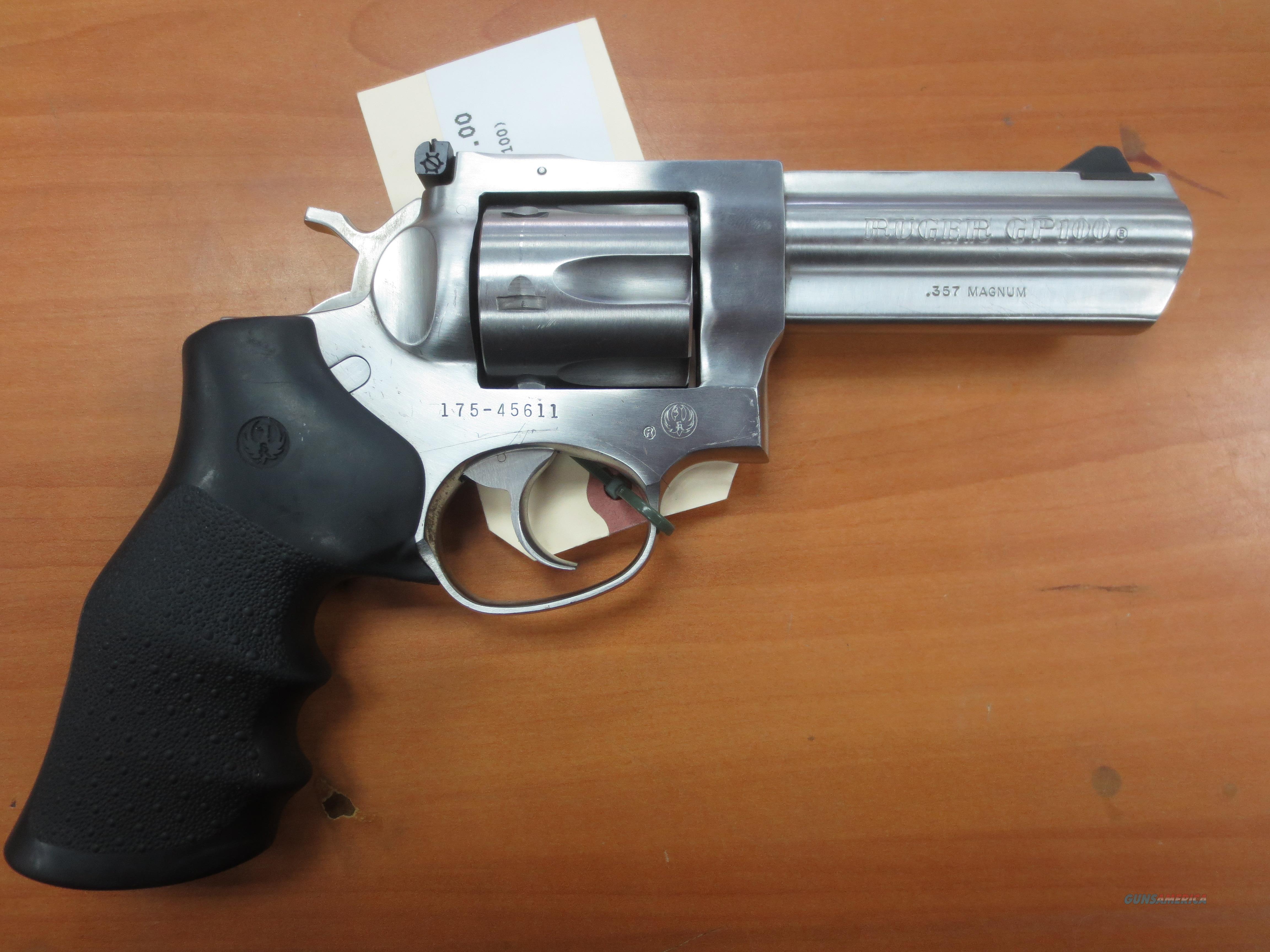 Ruger GP100 Full frame 6 shot .357 Mag CA OK!  Guns > Pistols > Ruger Double Action Revolver > GP100