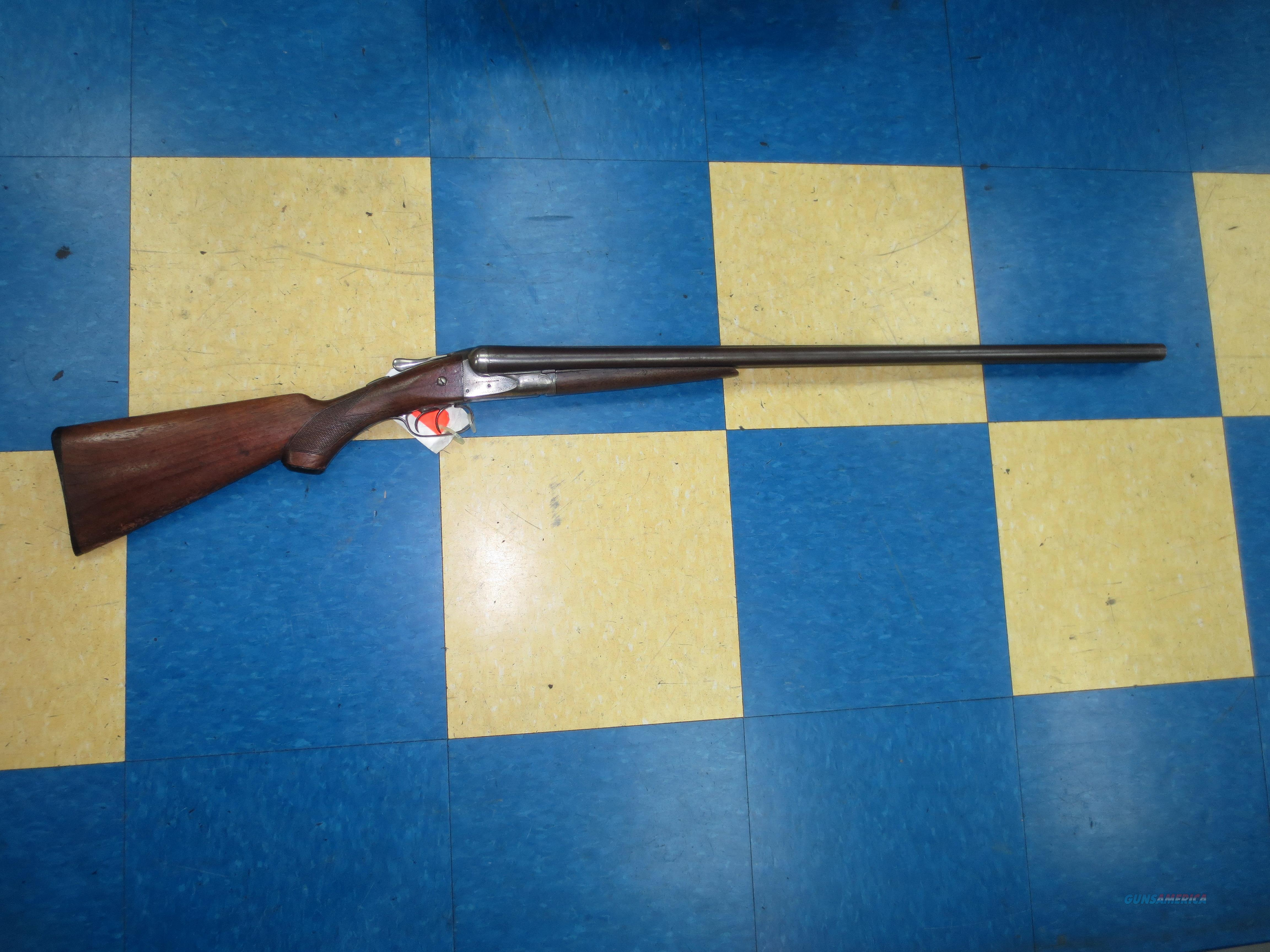 AW Fox Sterlingworth SxS 12 gauge shotgun  Guns > Shotguns > Fox Shotguns