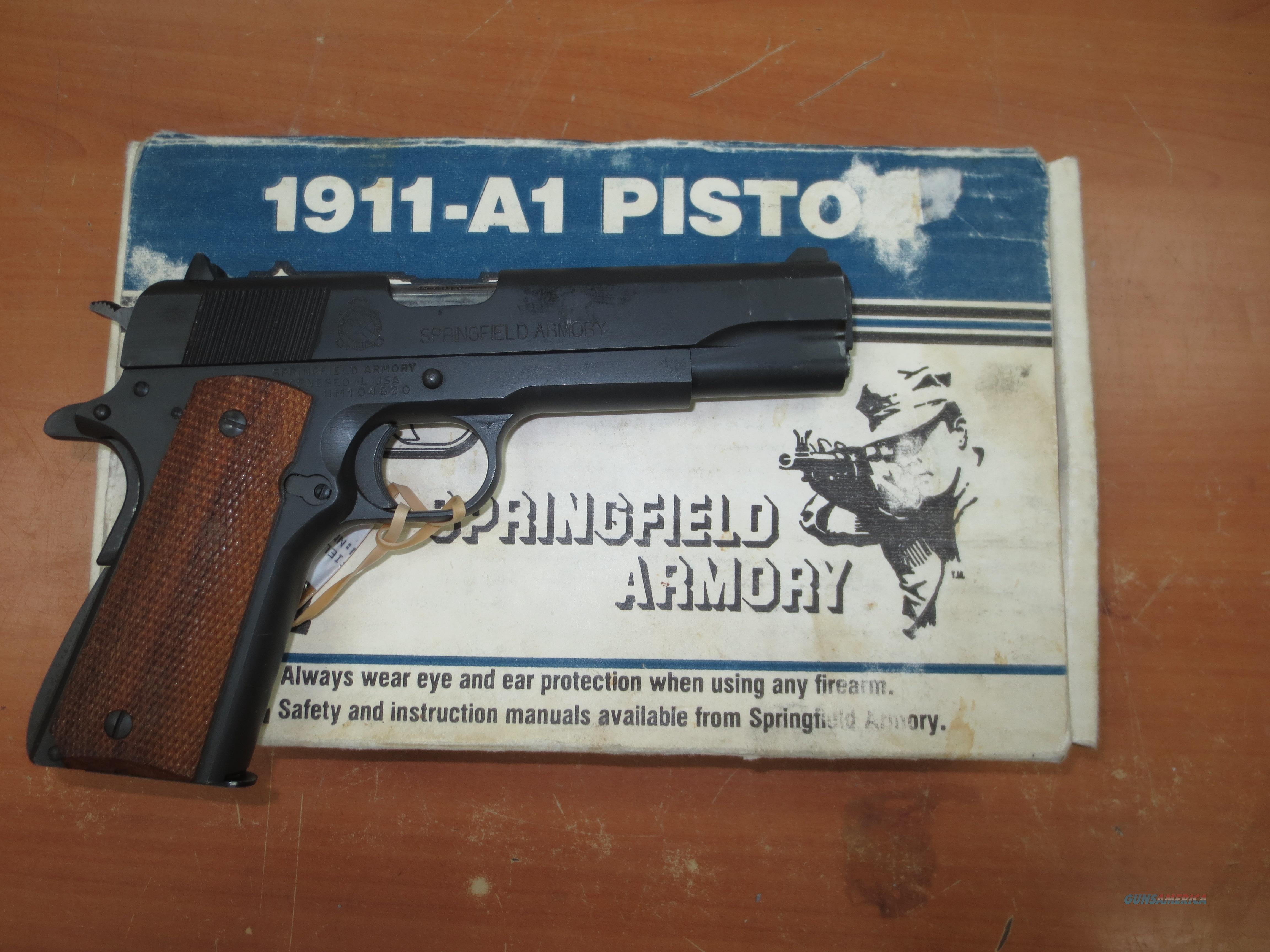 Springfield Armory model 1911-A1 .45 caliber  Guns > Pistols > Springfield Armory Pistols > 1911 Type