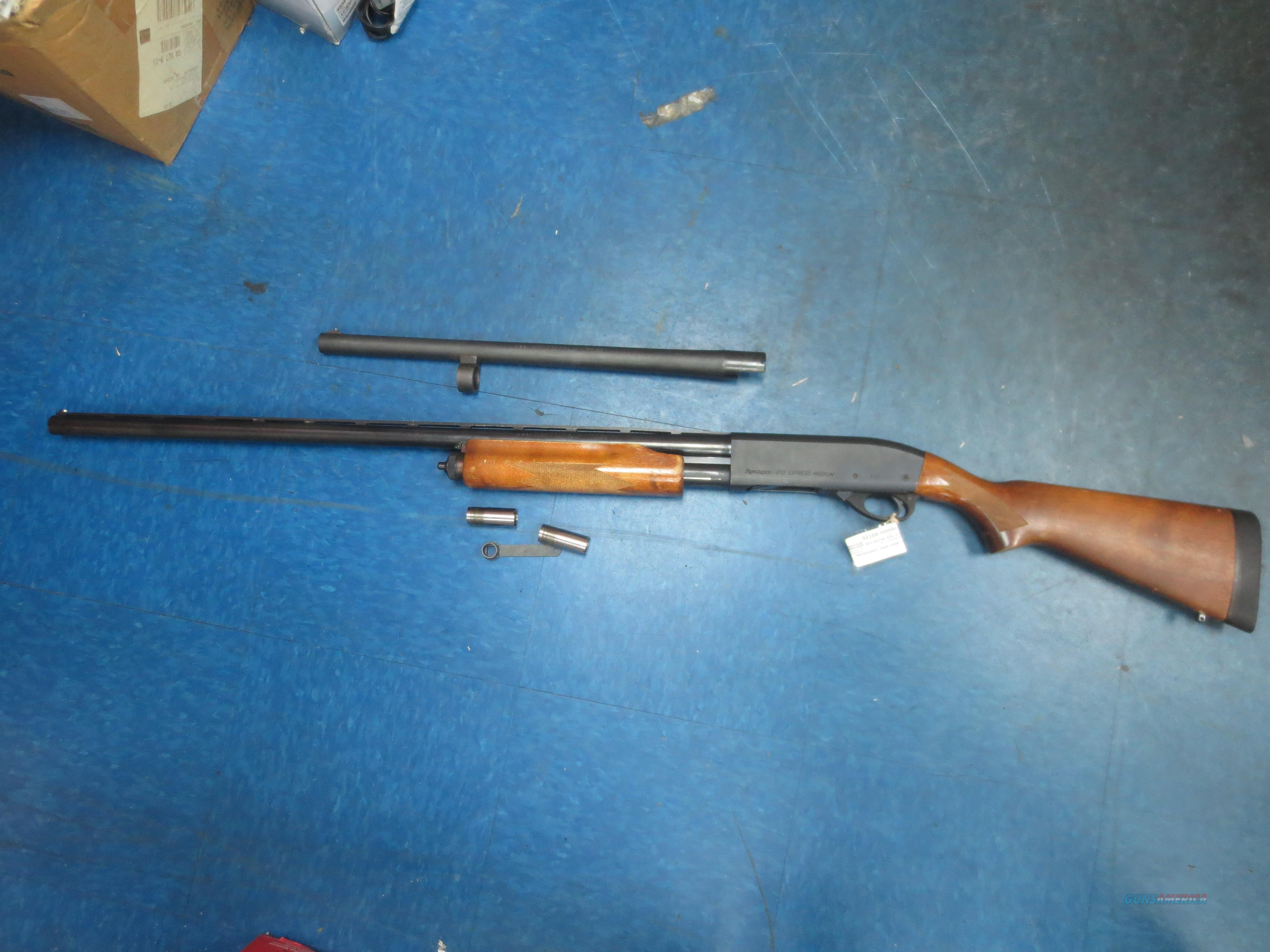 Remington Model 870 Express Magnum 12 Gauge   Guns > Shotguns > Remington Shotguns  > Pump > Trap/Skeet