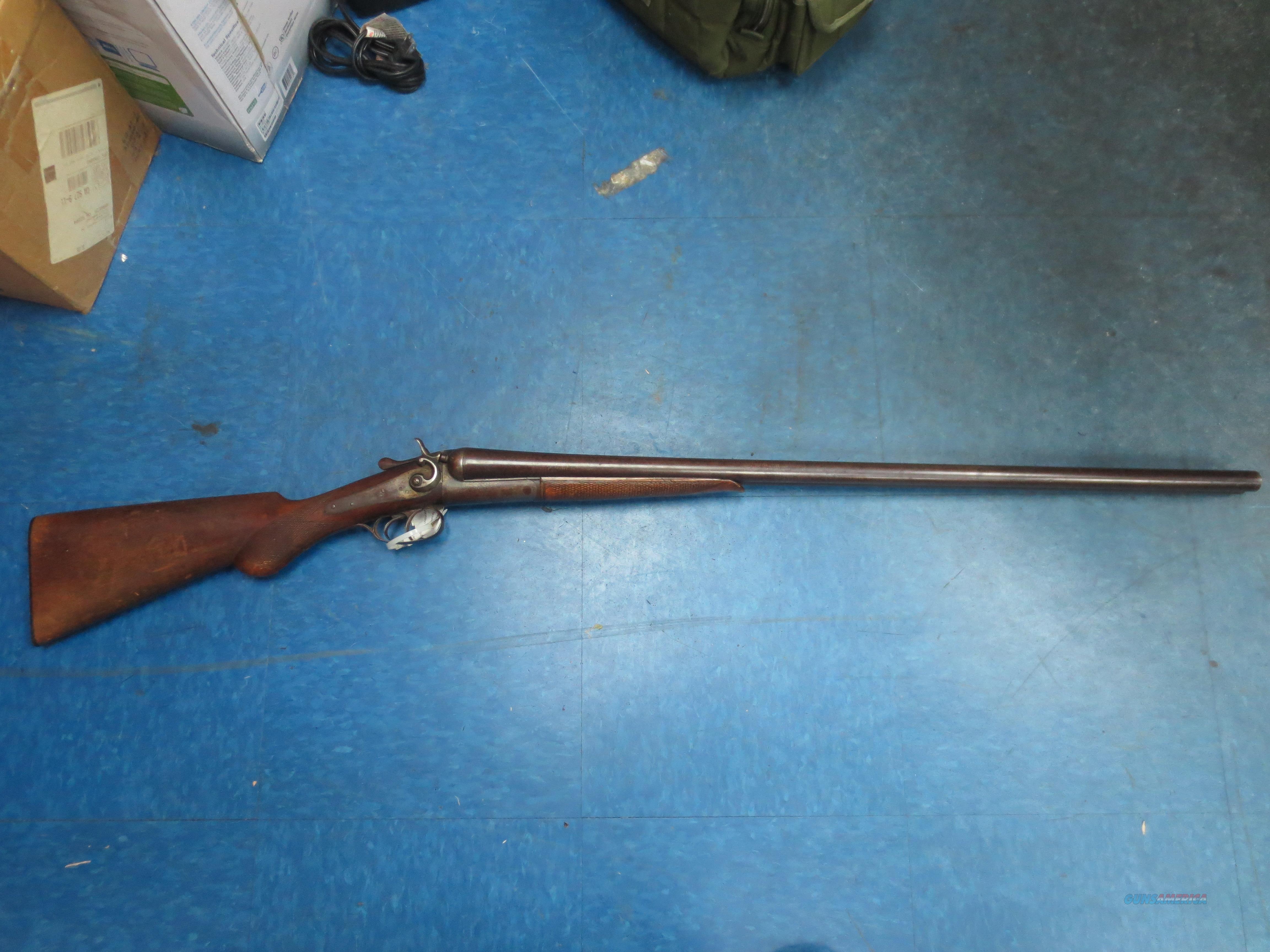 "SxS Columbia Machine Gun ""Belgium""   Guns > Shotguns > Classic Doubles Shotguns"