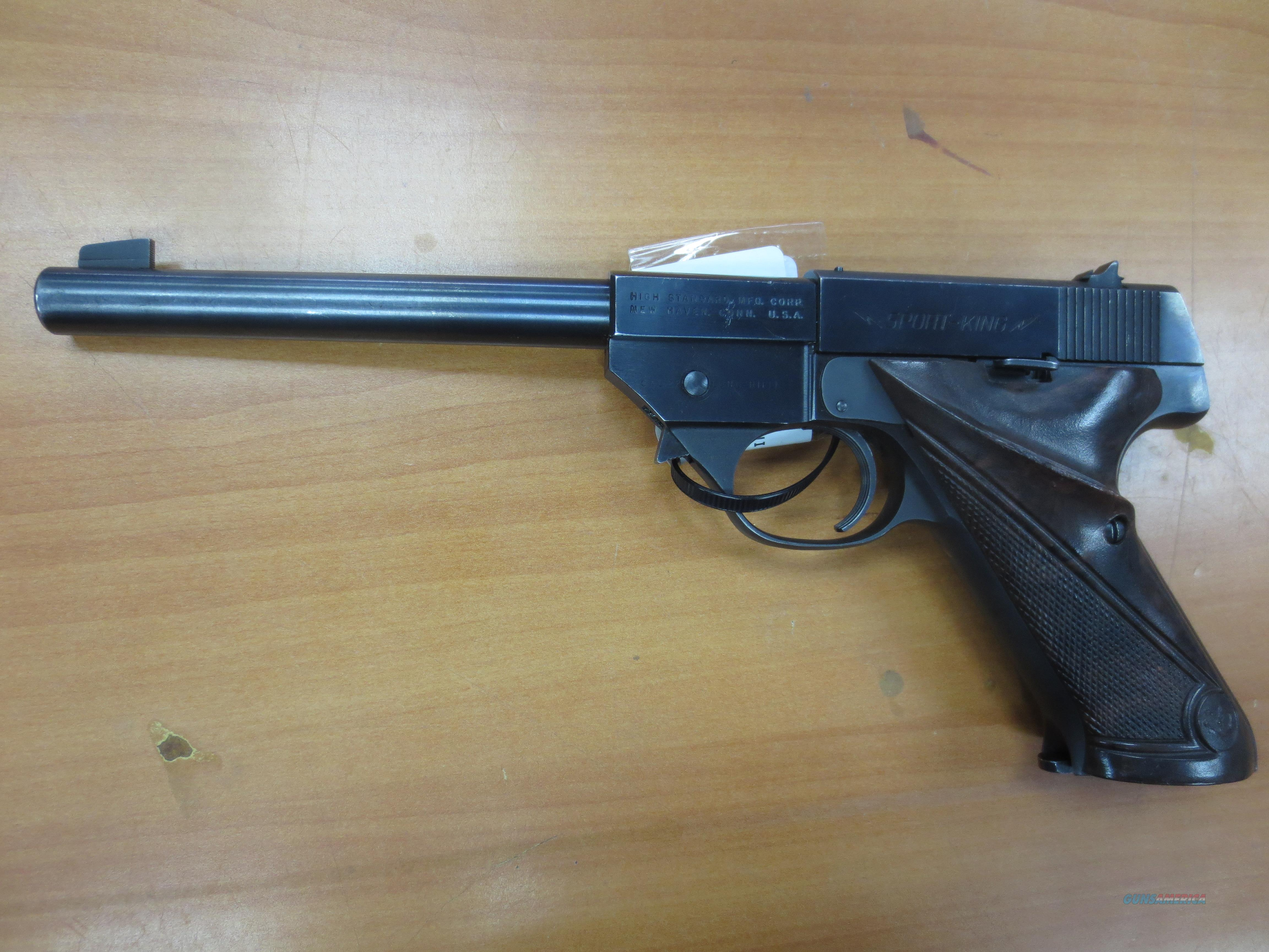 "High Standard Sport-King 6.75"" barrel .22lr cal  Guns > Pistols > High Standard Pistols"