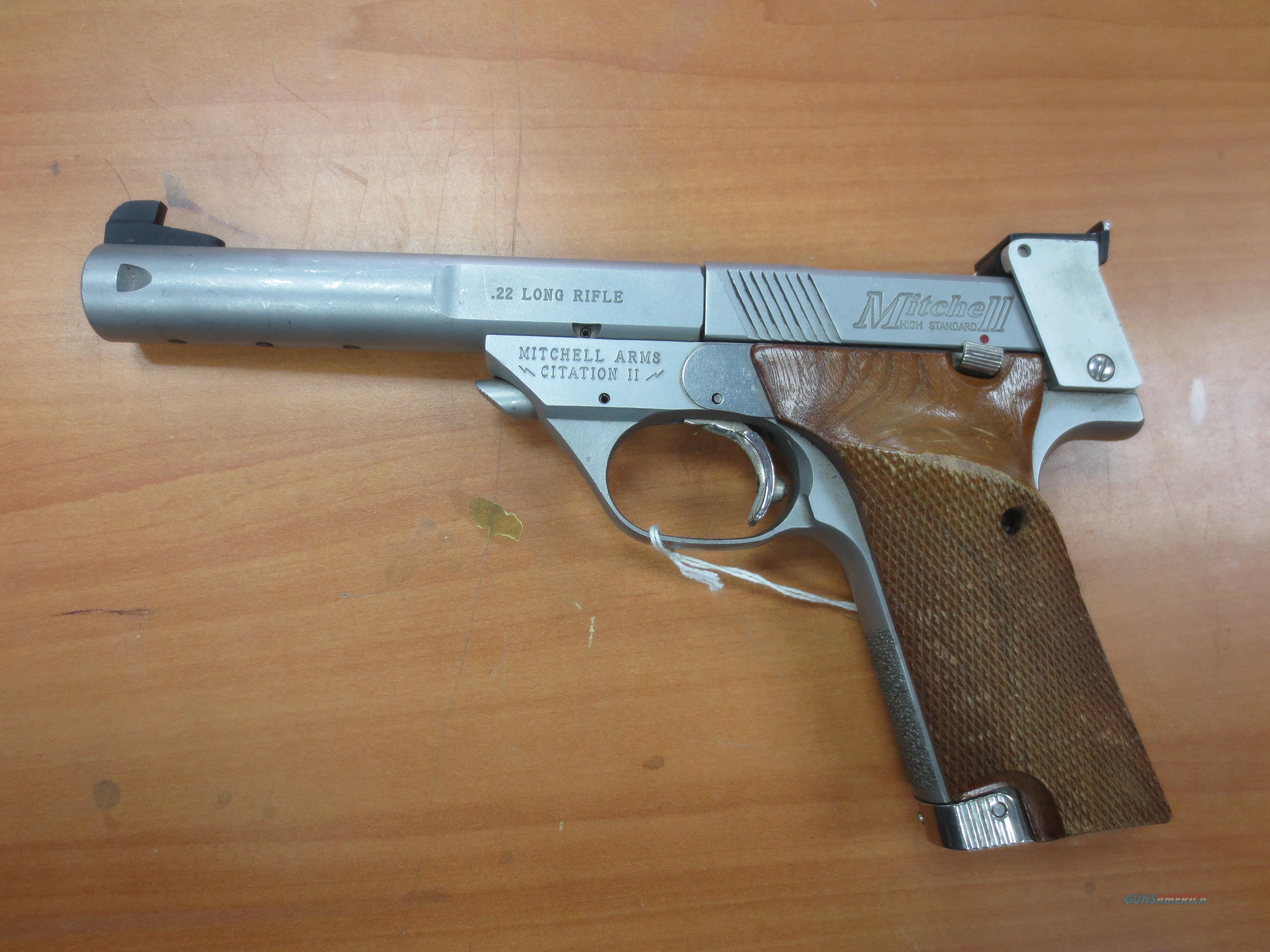 """Mitchell Arms """"Citatian II"""" pistol w/orig box stainless steel  Guns > Pistols > Mitchell Arms Pistols"""