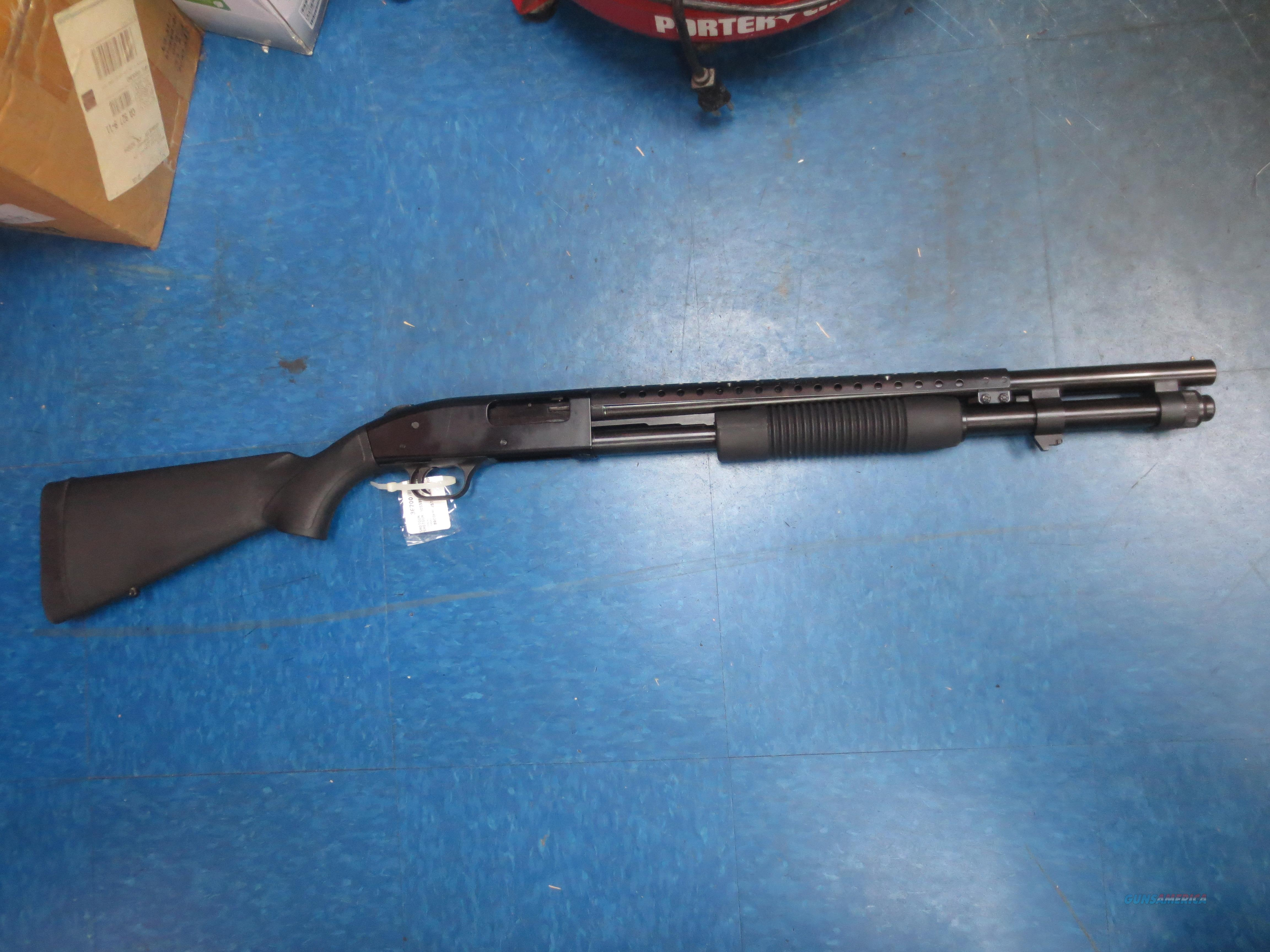 Mossberg model 590 Tactical 12 gauge with Heat Shield  Guns > Shotguns > Mossberg Shotguns > Pump > Tactical