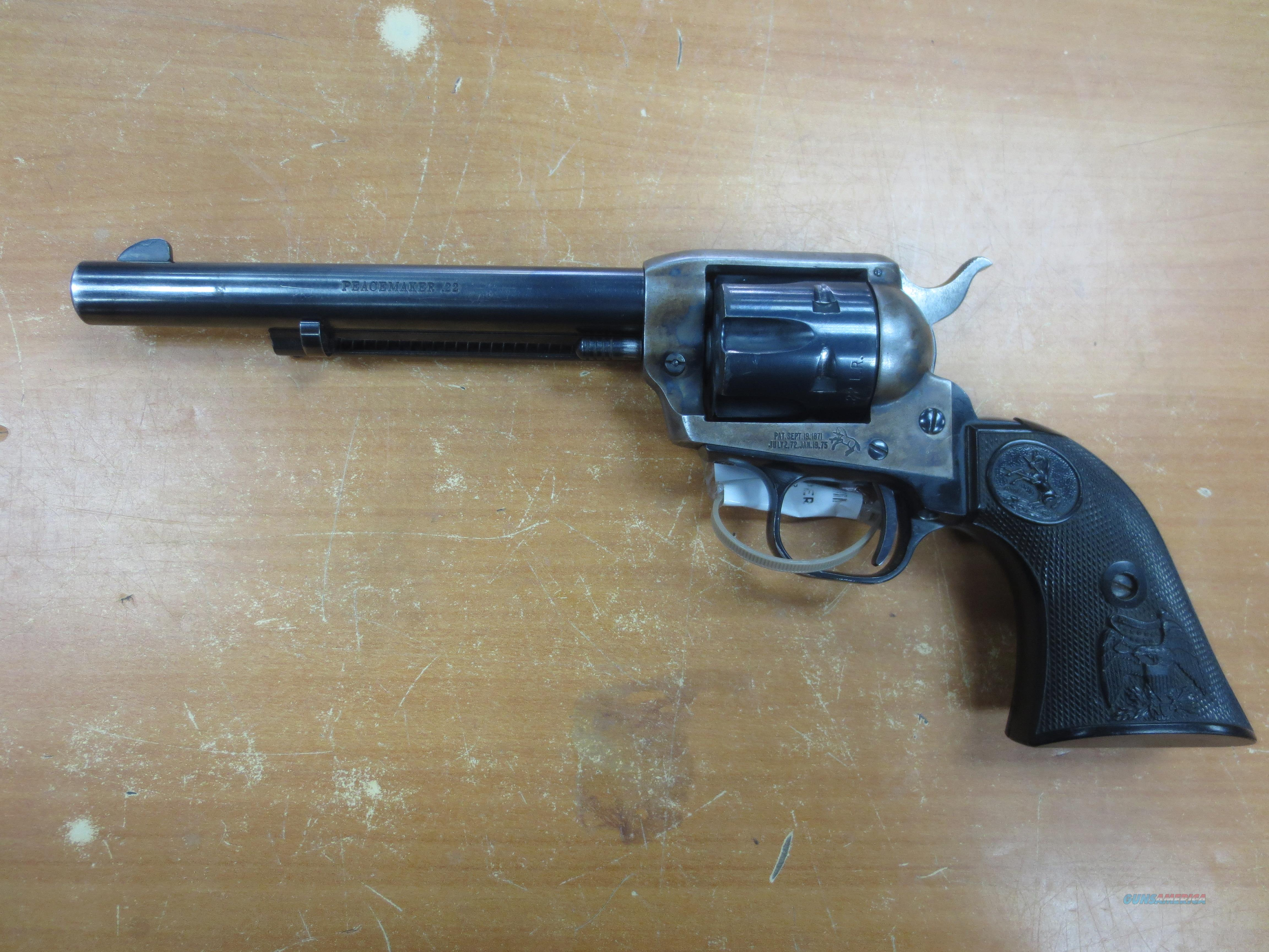 Colt Peacemaker .22LR   Guns > Pistols > Colt Single Action Revolvers - Modern (22 Cal.)