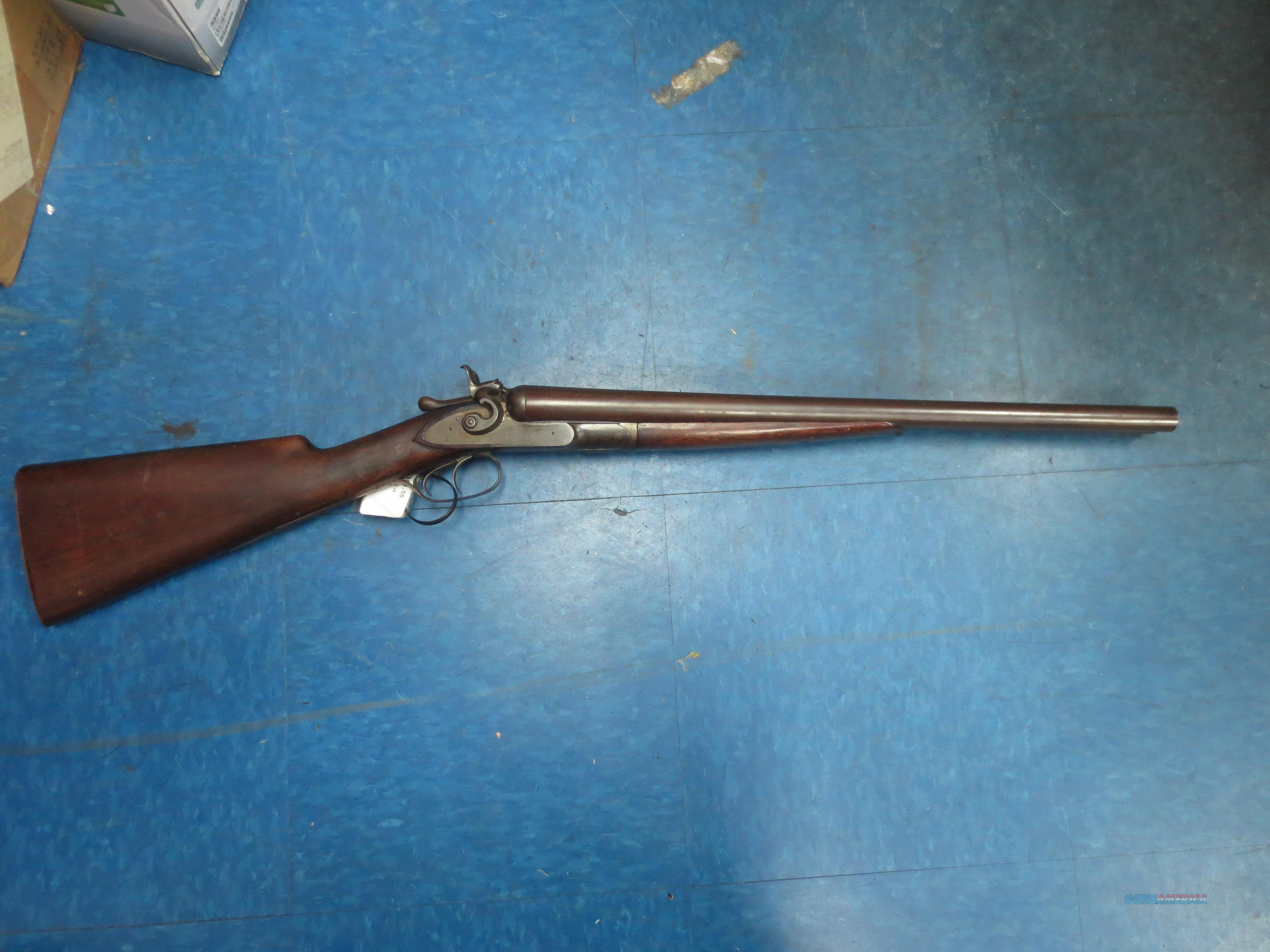 Colt 1878  SXS Wells Fargo & Co Coach shotgun   Guns > Shotguns > Colt Shotguns