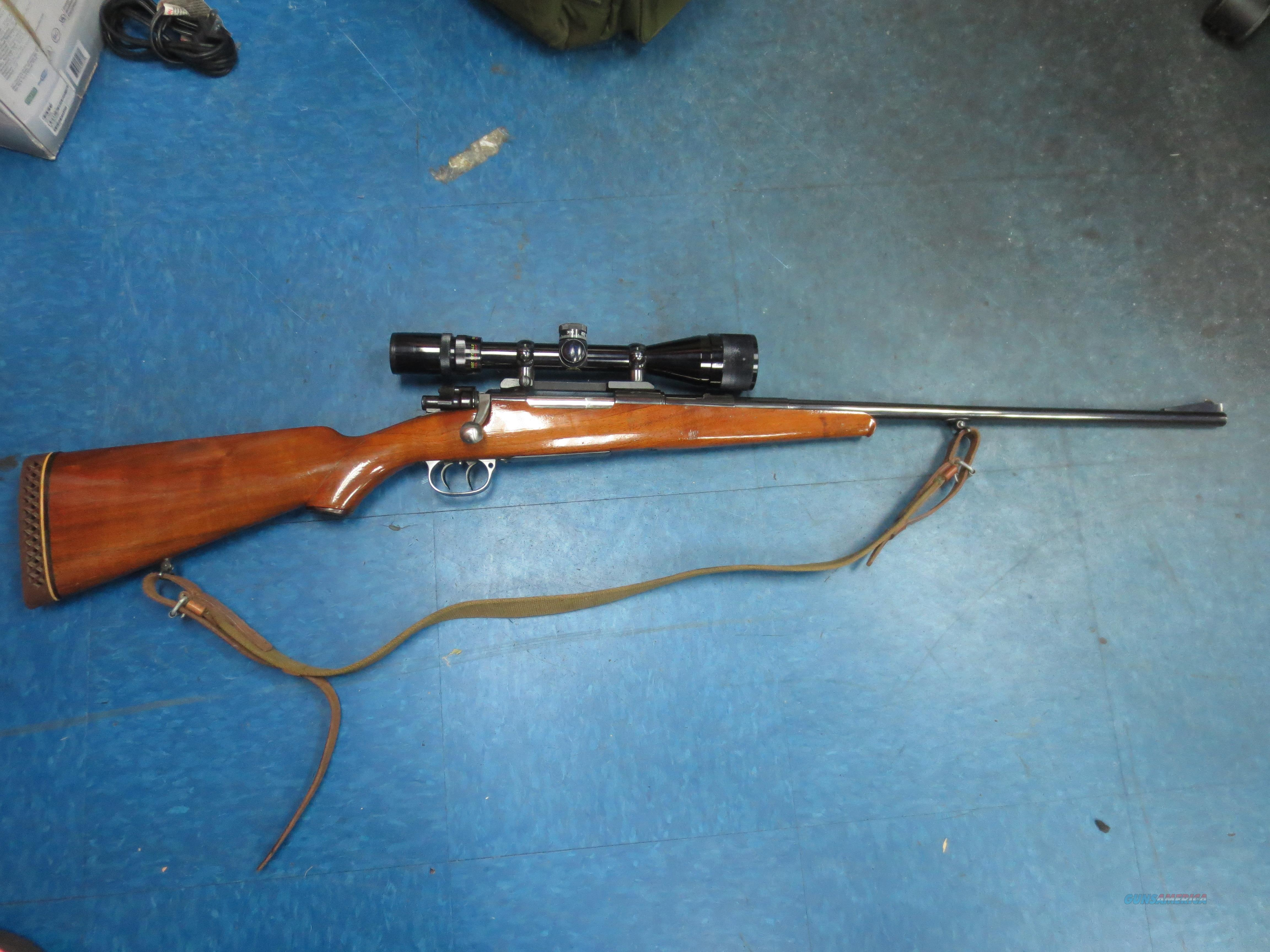 Sporterized Mauser dual trigger 7.92 or 8mm w/scope  Guns > Rifles > Custom Rifles > Bolt Action